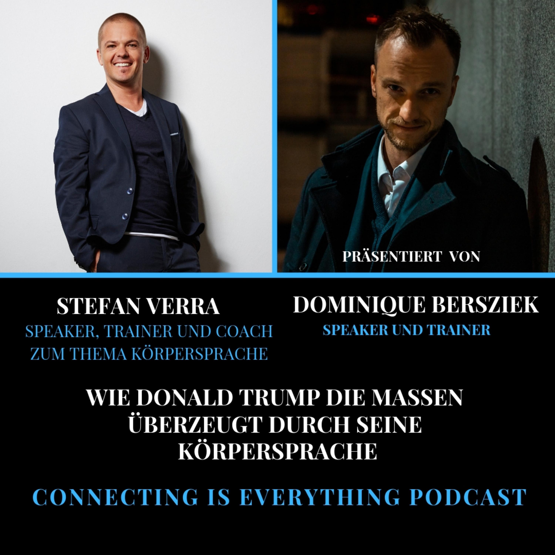 Stefan Verra im Interview wie Donald Trump die Massen überzeugt mit seiner Körpersprache