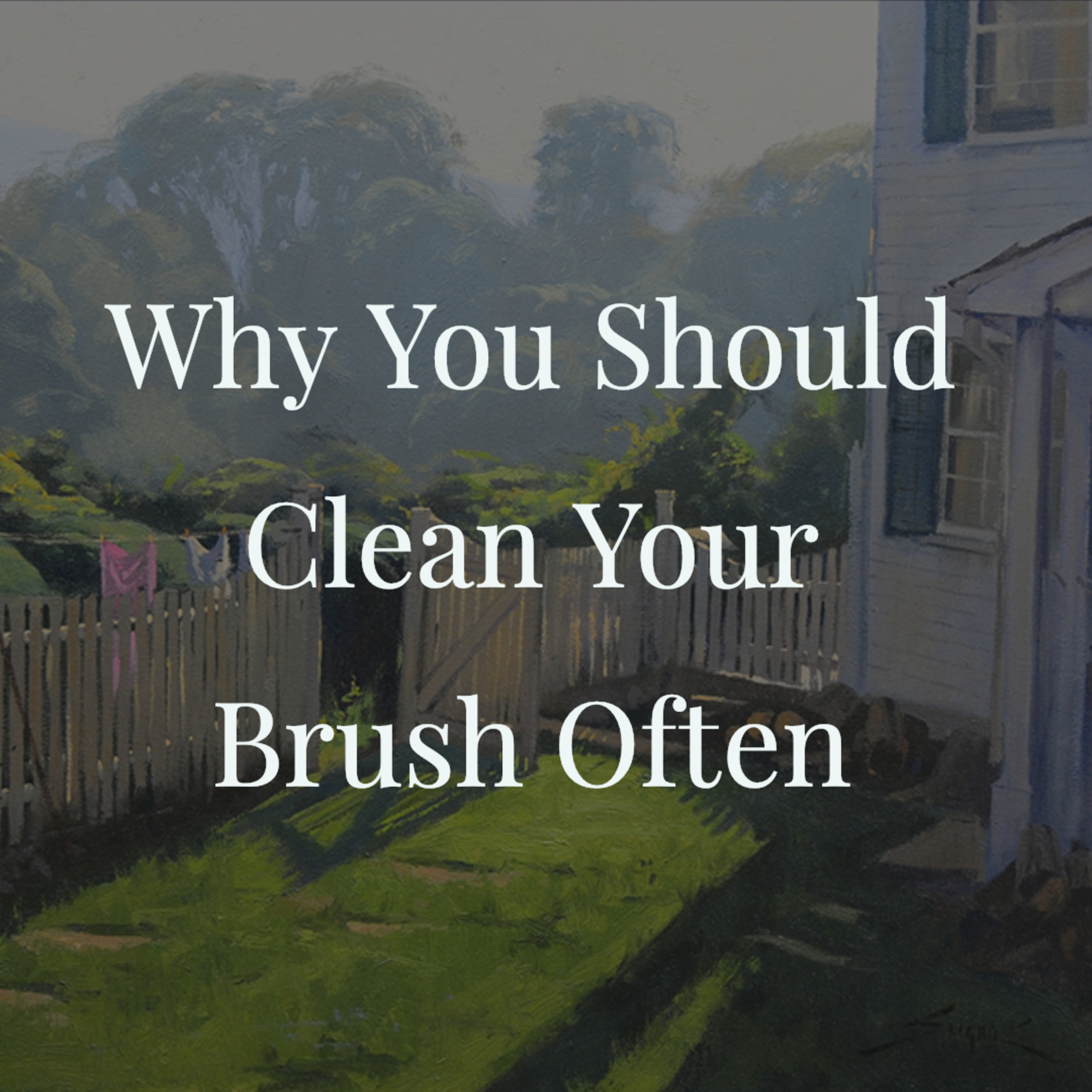 Why You Should Clean Your Brush Often