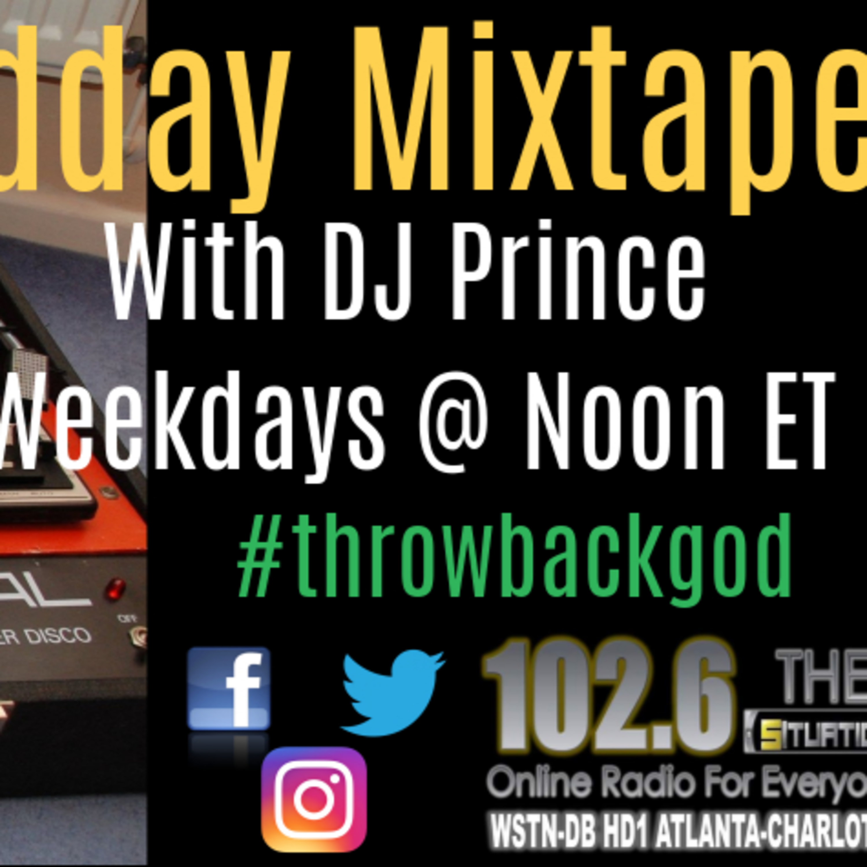 DJ Prince 'ya favorite throwback GOD' #15