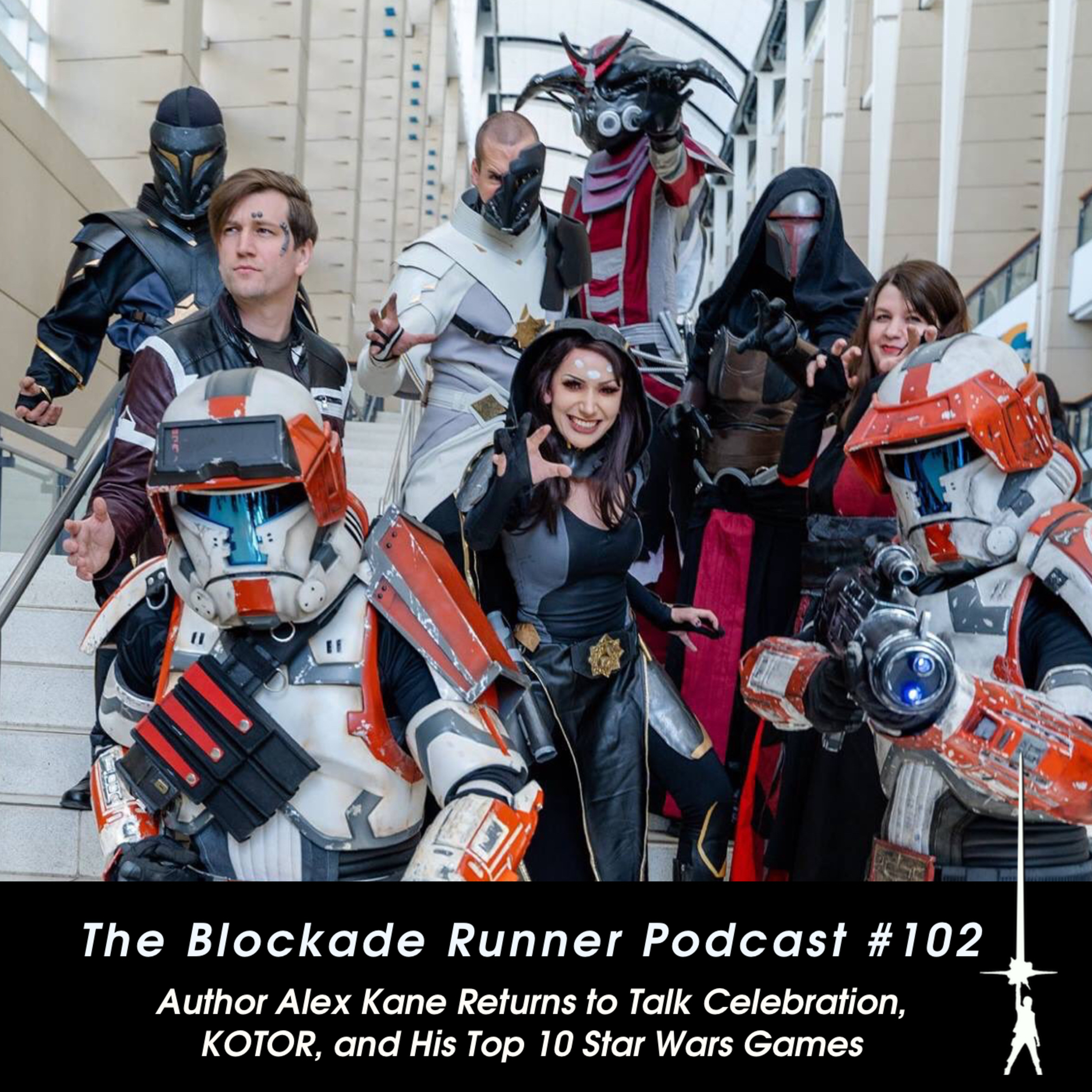 Author Alex Kane Returns to Talk KOTOR, Celebration, and His Top 10 Star Wars Games - The Blockade Runner Podcast #102