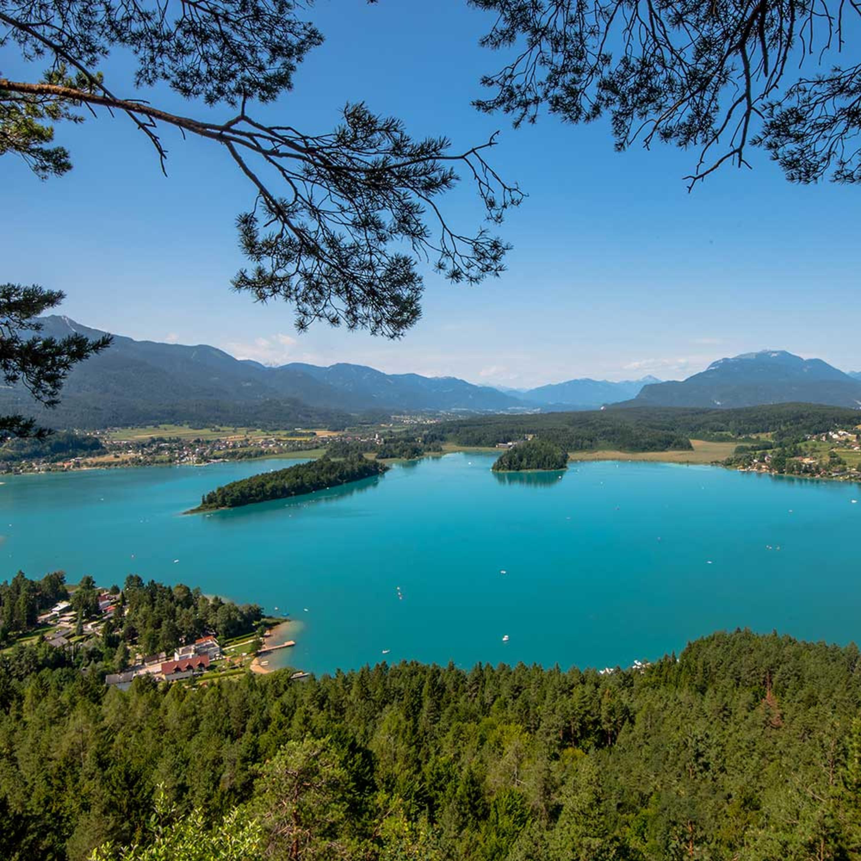 Der Faaker See bei Villach in Kärnten - Reise Sendung im Radio
