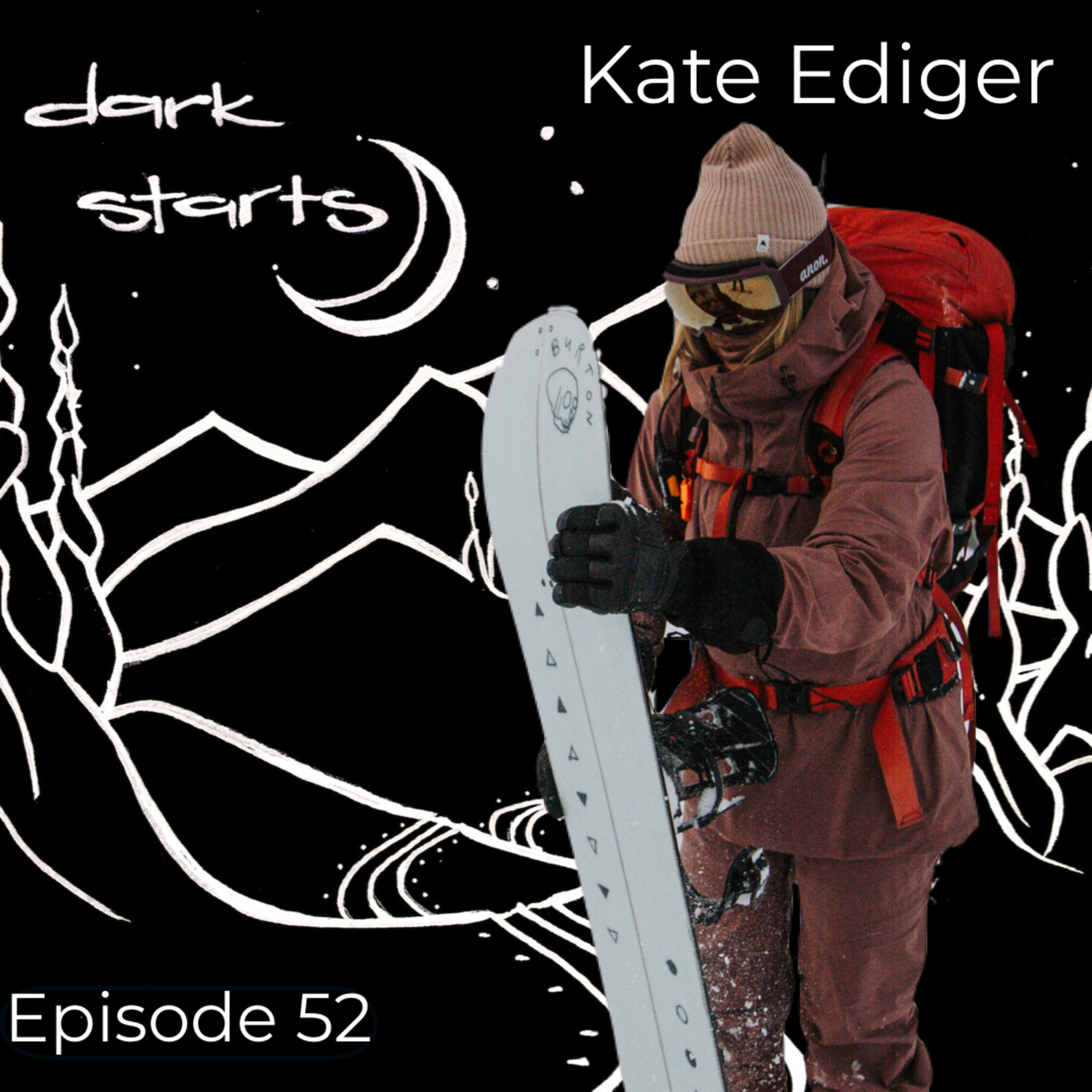 The flow state with Kate Ediger   Founder of Pit and Peak Avalanche Training, Tail Guide & Burton Ambassador