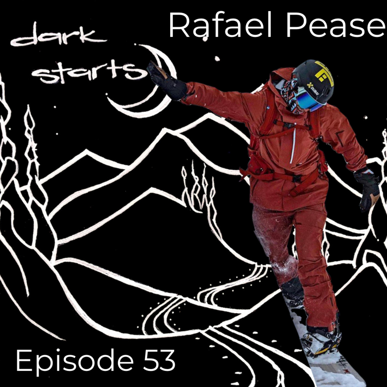 Respect the mountains with Rafael Pease   Pro Snowboard, Mountaineer, social-environmental activist & documentary filmmaker.