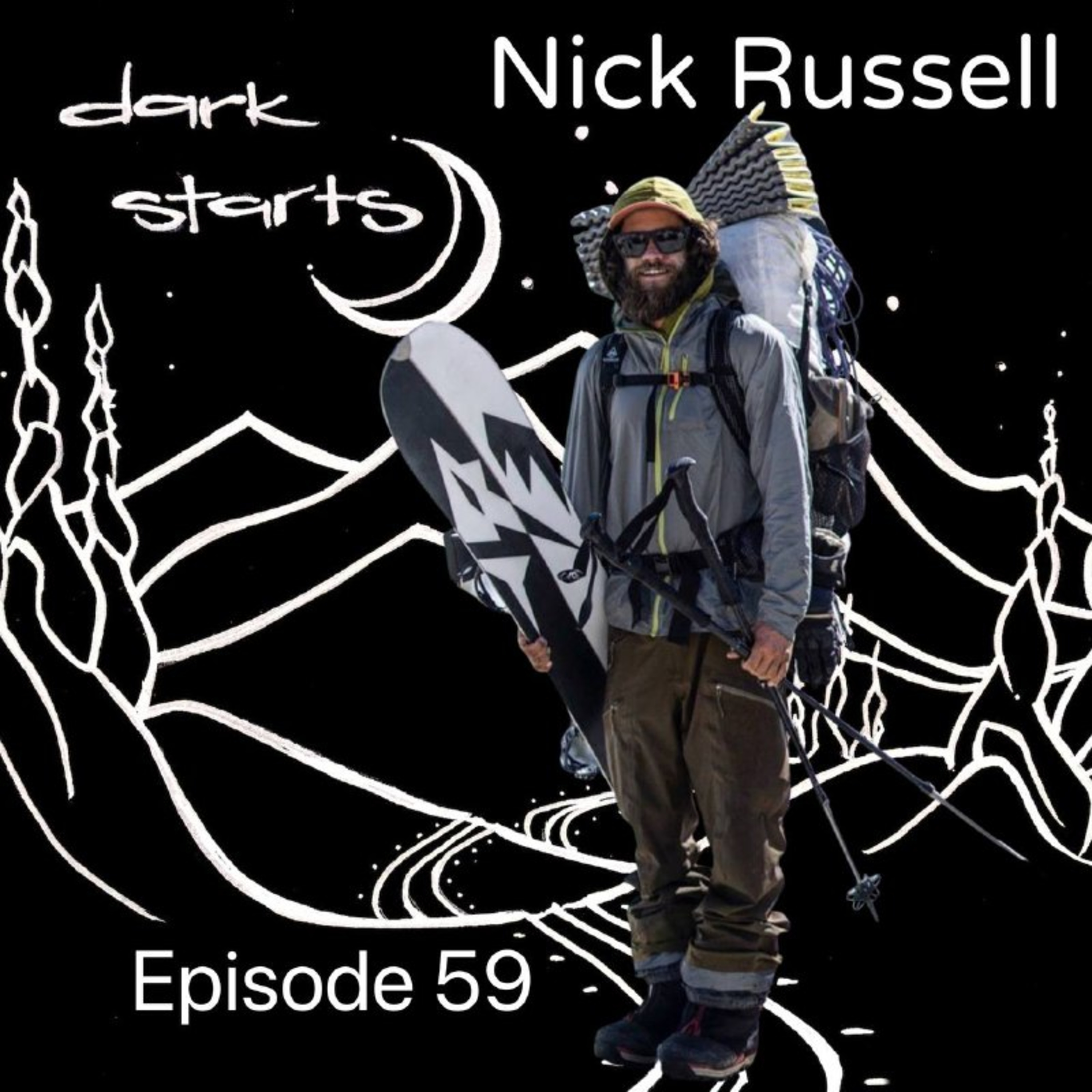 The Mountain Man with Nick Russell   Backcountry shredder and lover of the mountains out of Truckee California.