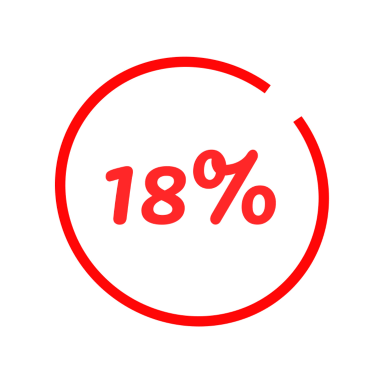 18% - The Best Grade I Ever Received