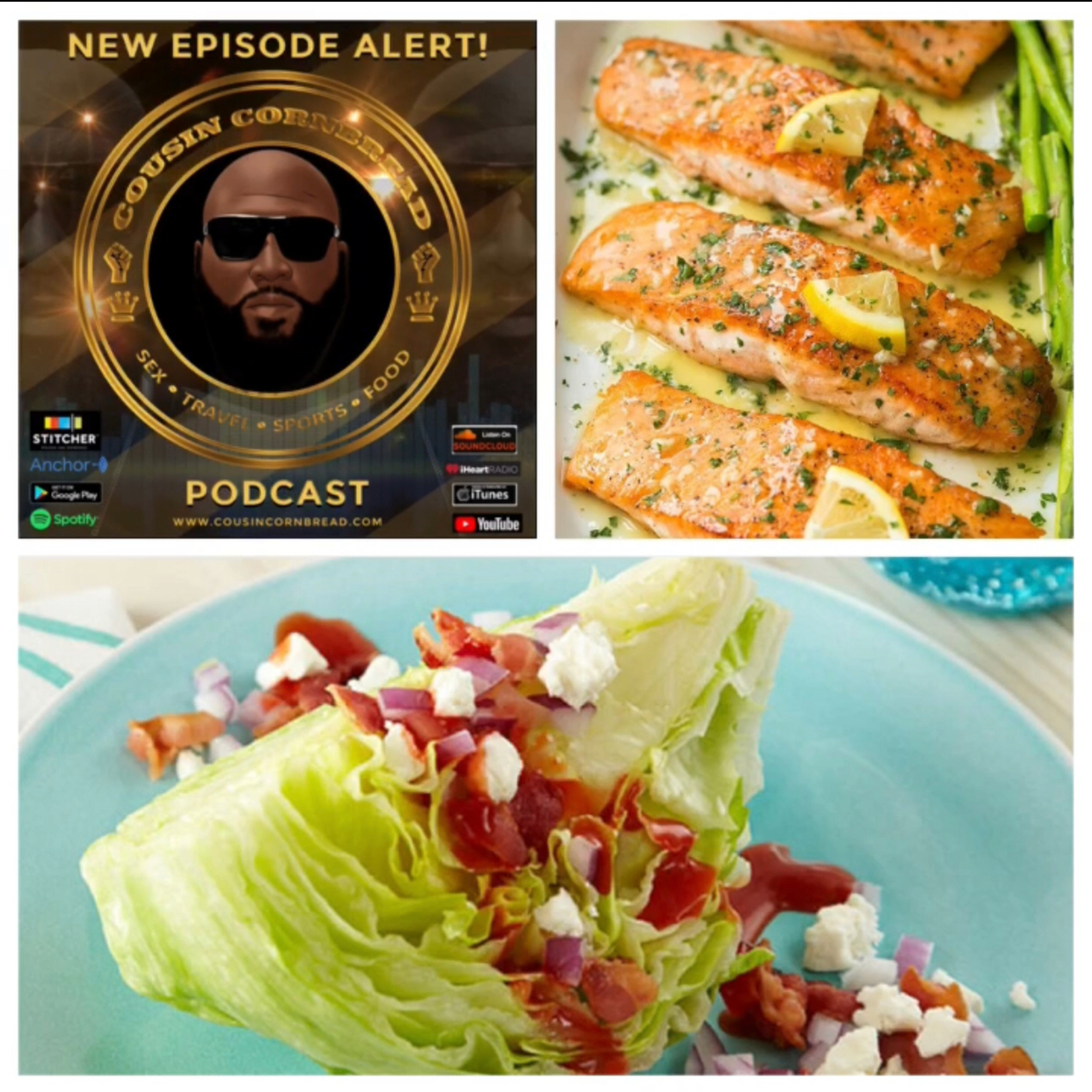 EP 27 The L in Salmon and Bad and Boujee Romaine Lettuce
