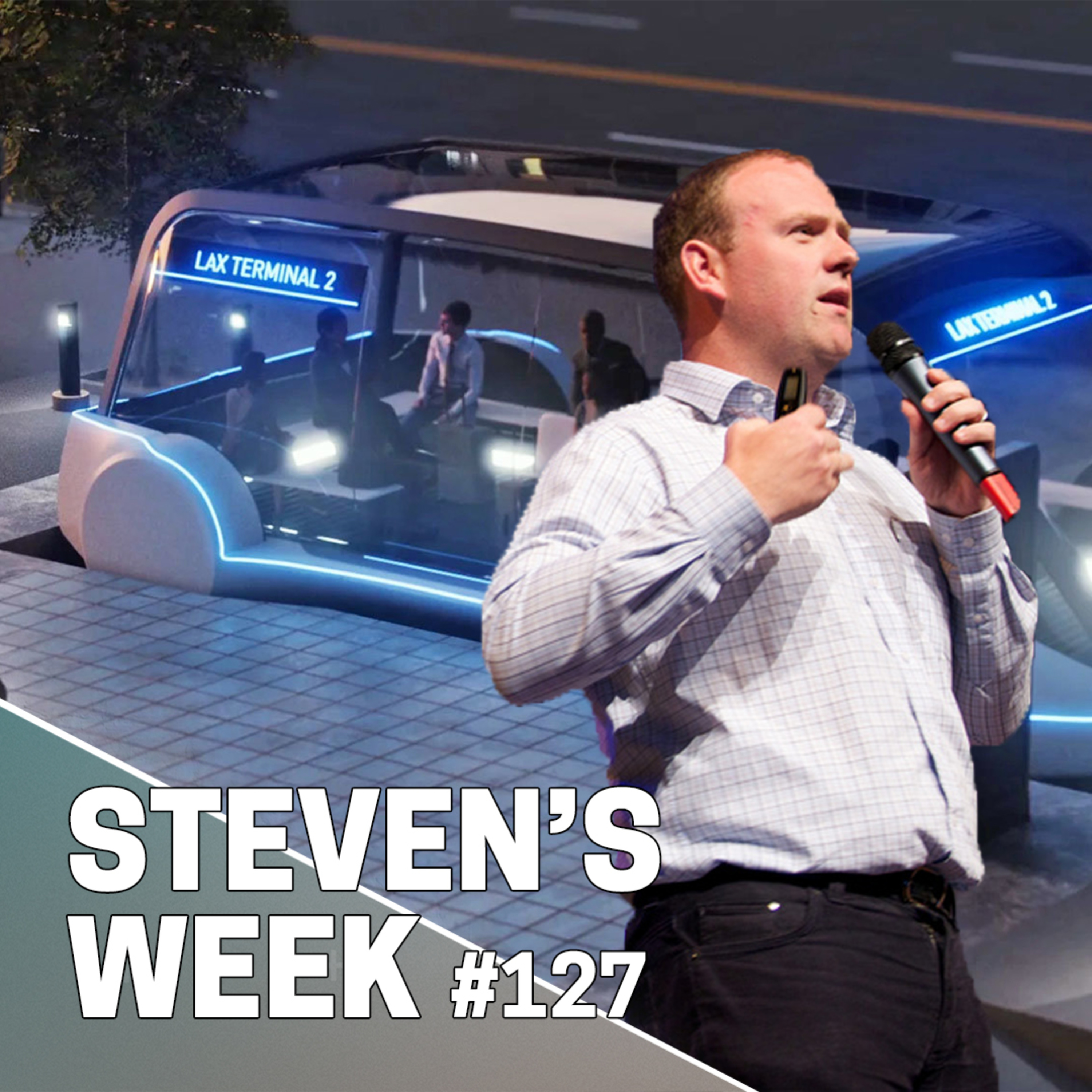 Steven's Week #127: News about Amazon, Deliveroo, ByteDance & The Boring Company