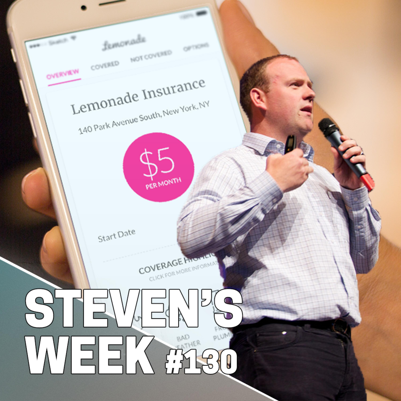 Steven's Week 130: News about Spotify, Wallmart, Amazon and insurance startup Lemonade