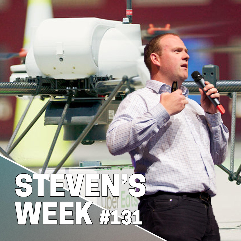 Steven's week 131: News about Amazon, Uber Eats and McDonald's, Libra, YouTube and Alexa