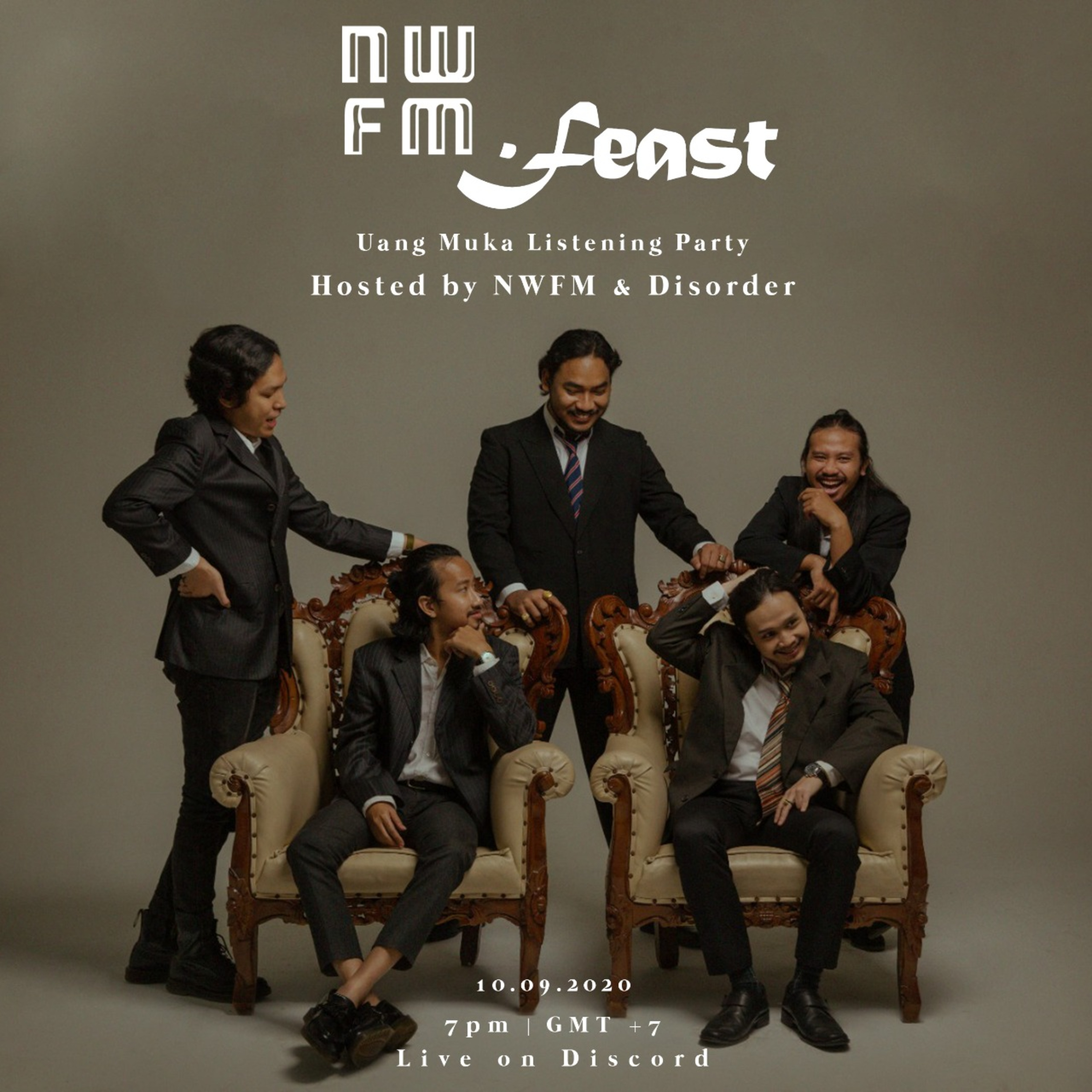 "NWFM Special: ""Uang Muka"" Listening Party, a Mini Album by .Feast"