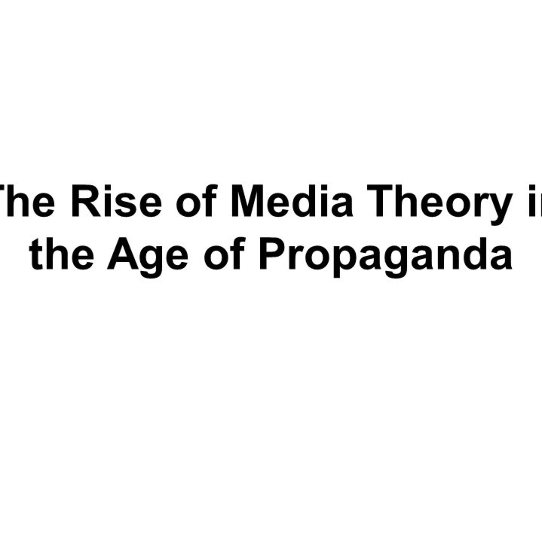 James Tracy - media theory