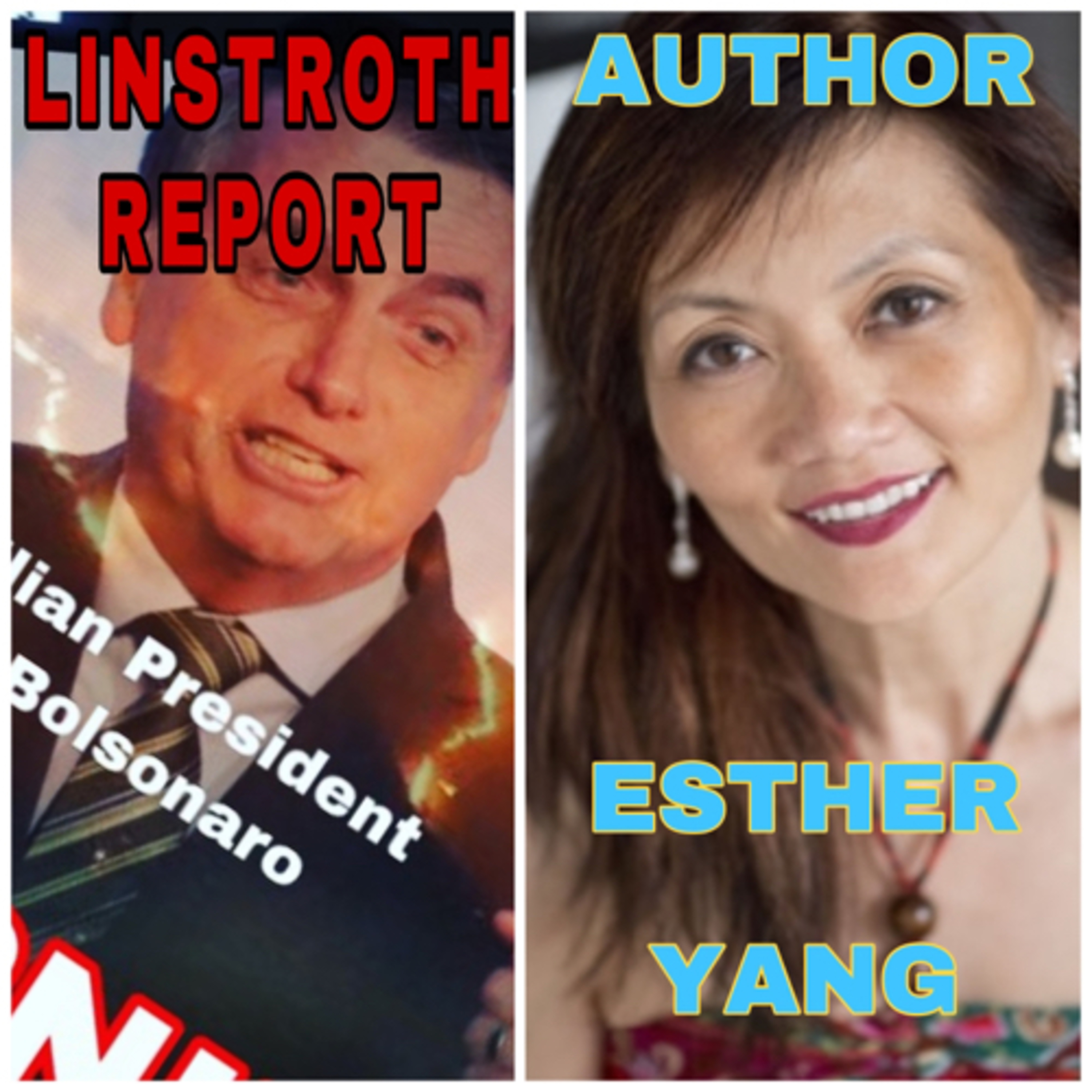 Linstroth Report: Amazon Burning!!! And NYC based author: Esther Yang