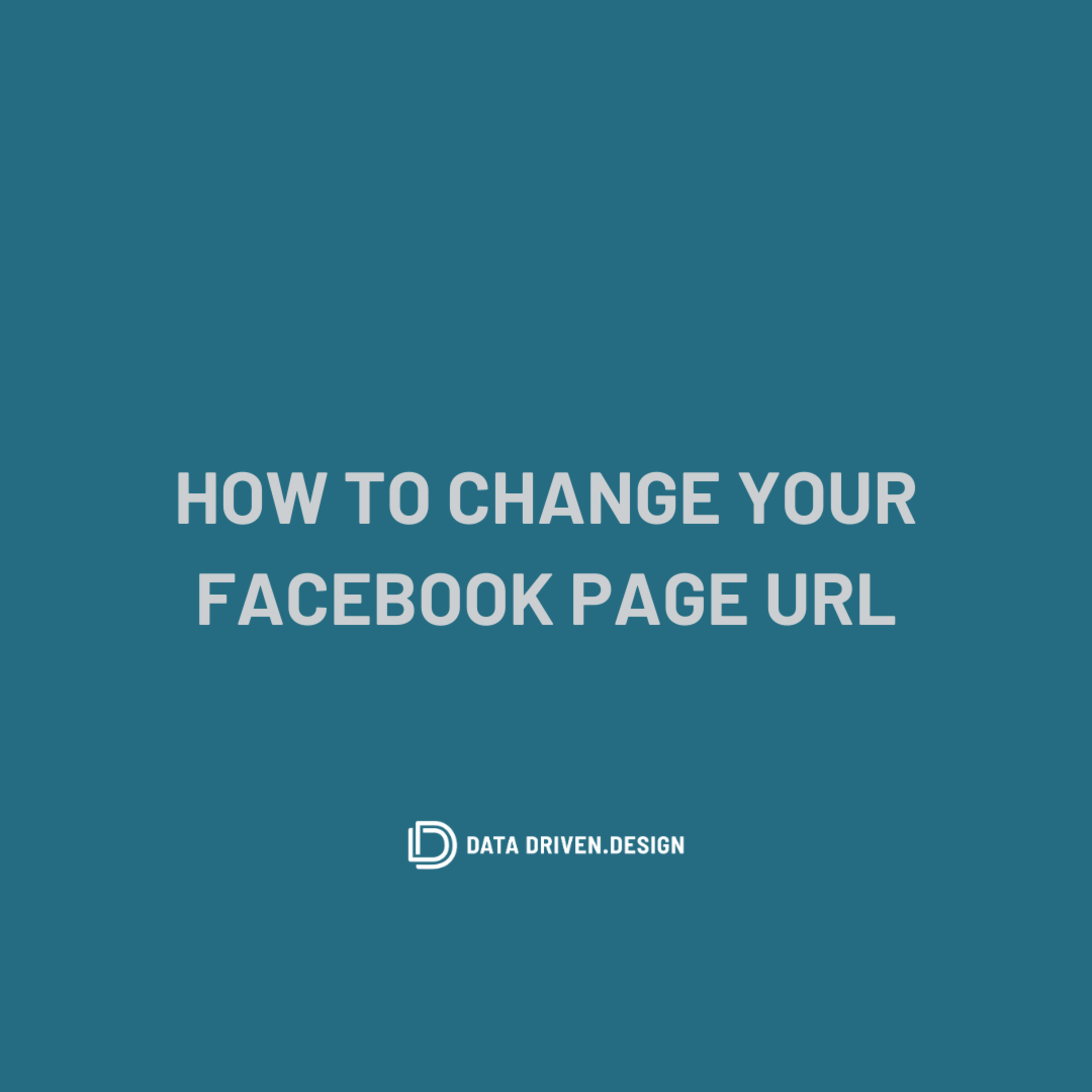 Episode 293: How To Change Your Facebook Business Page URL