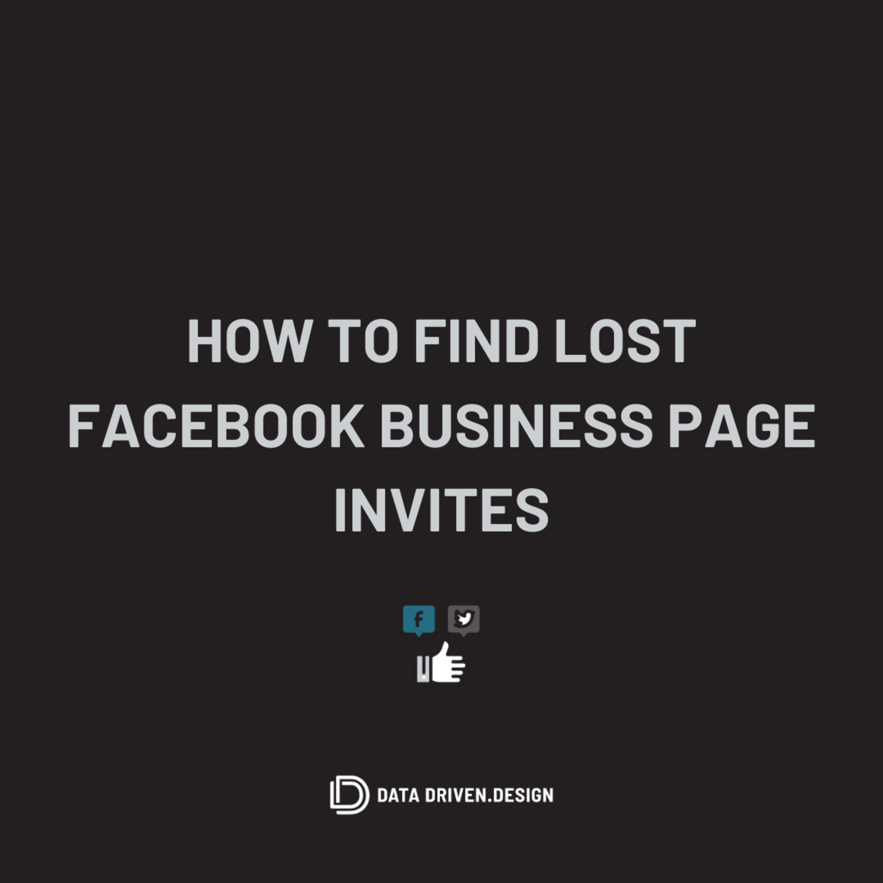 Episode 296: How To Find Lost Facebook Business Page Admin Invites