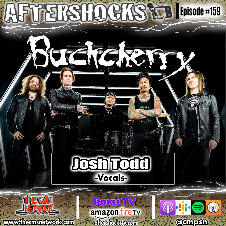Aftershocks TV | Buckcherry Vocalist Josh Todd
