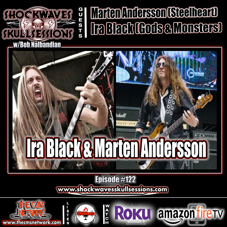 SS #122 | Marten Andersson & Ira Black