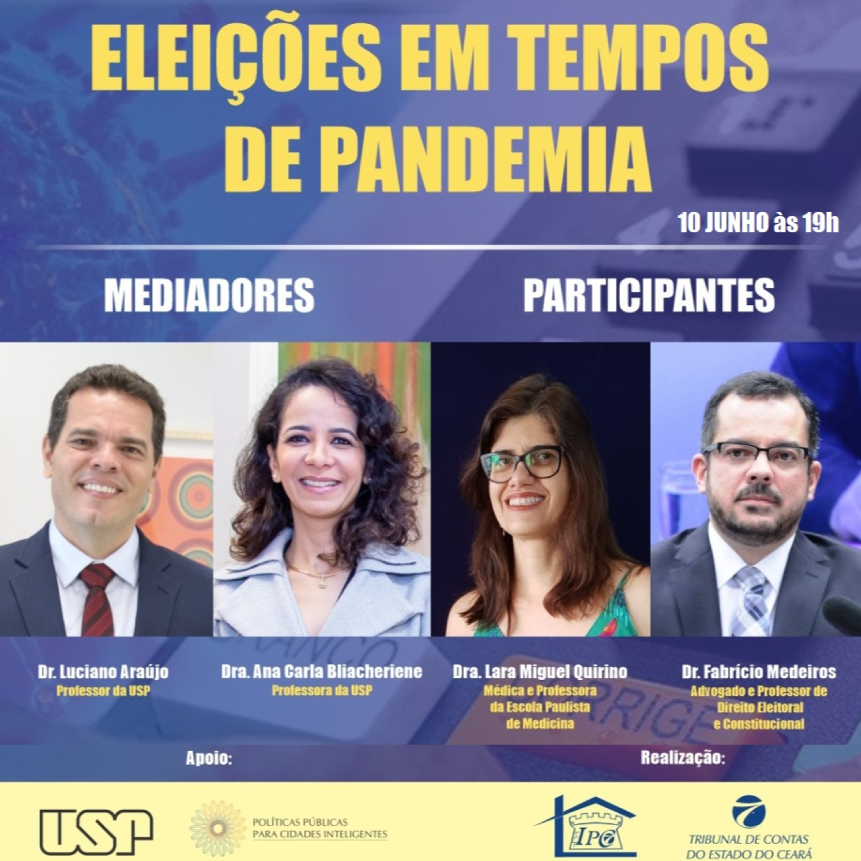 Webinar Eleições em Tempos de Pandemia