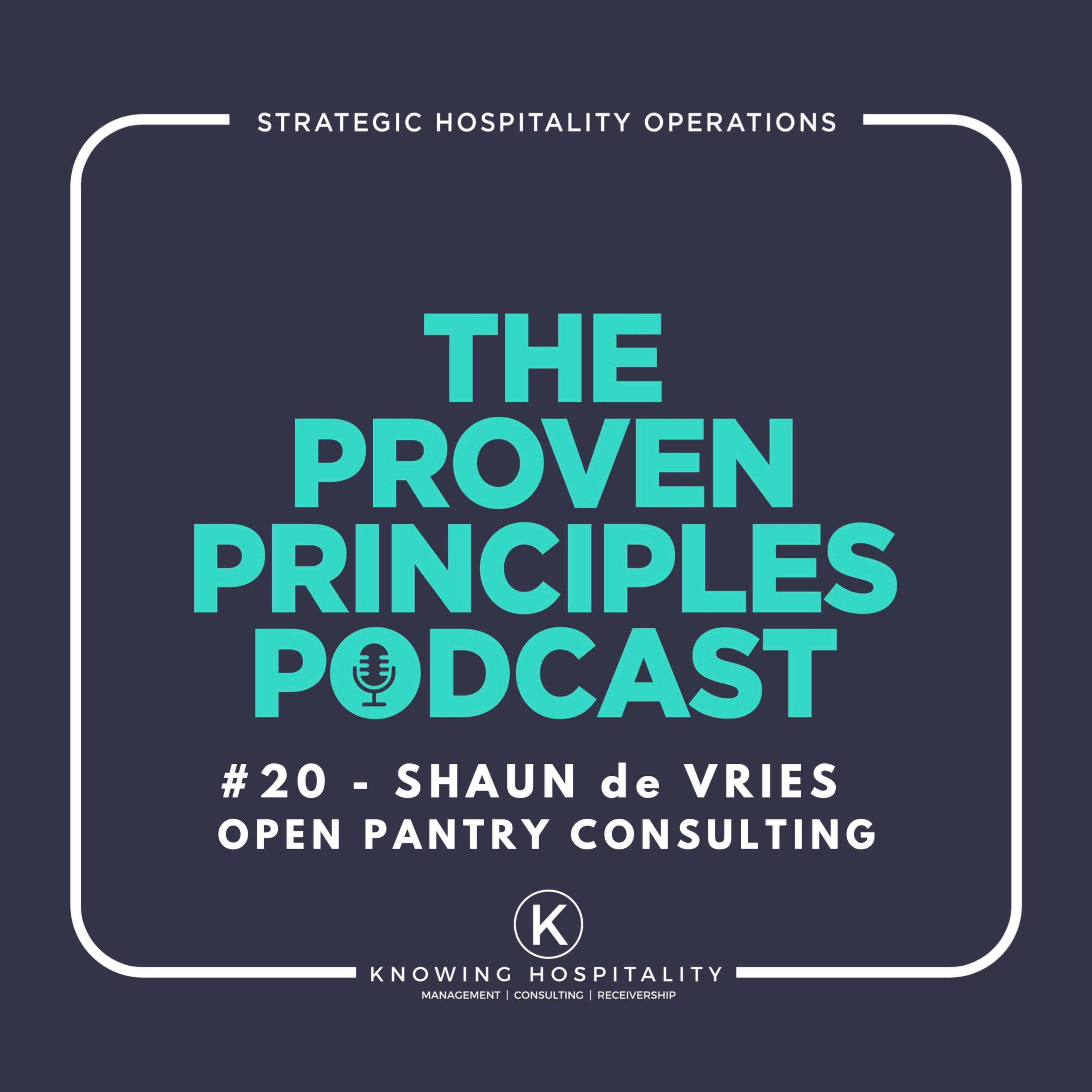 #20: Shaun de Vries - On Operations Strategy and Running a Successful Restaurant