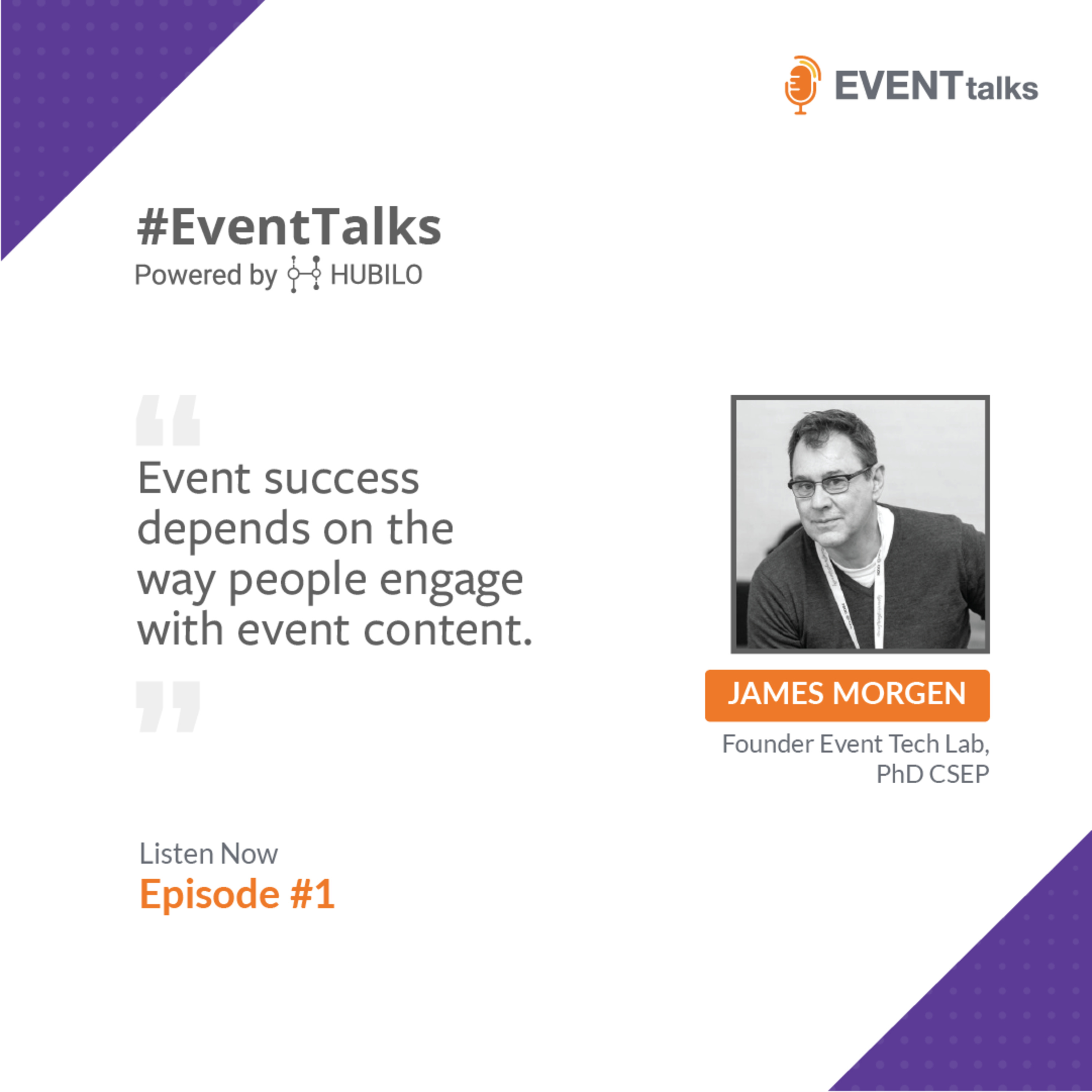 [#EventTalks] Episode 1: All about Event Tech, Event Design & Marketing with Dr. James Morgan