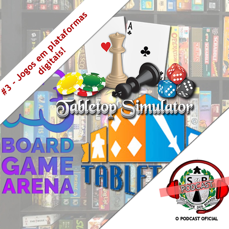 #3 O Hobby! - Jogos de tabuleiros em plataformas digitais e emuladas