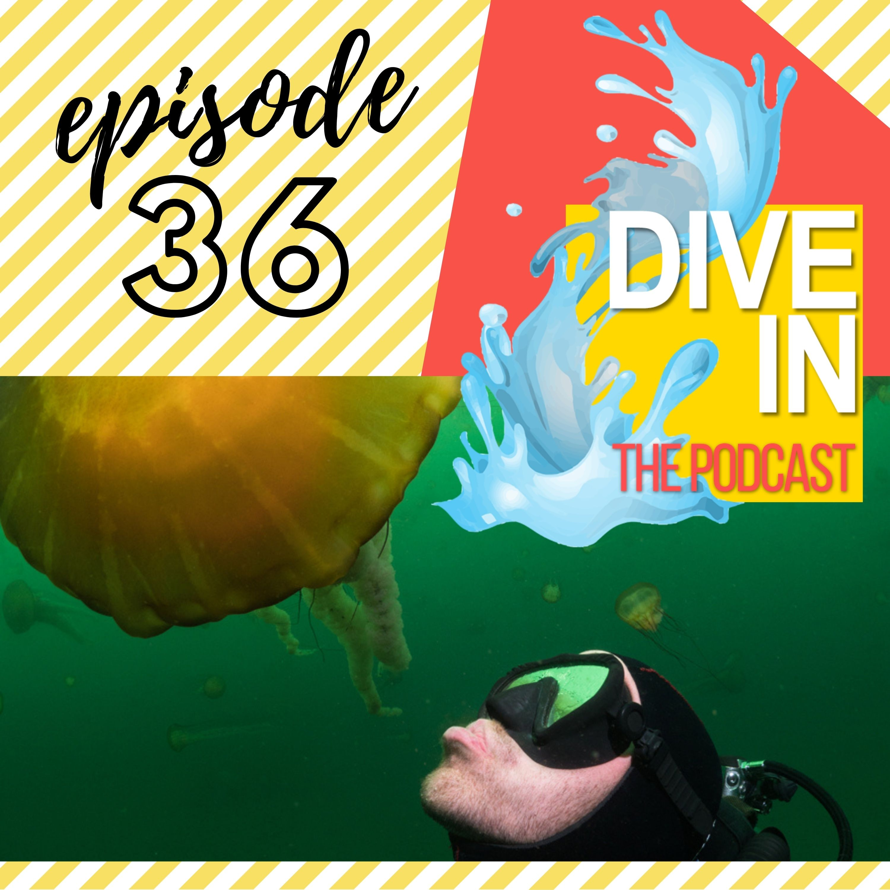 """Episode 36: """"Molas Riding The White Shark Off Into The Sunset"""" with guest Patrick Webster AKA UnderwaterPat"""