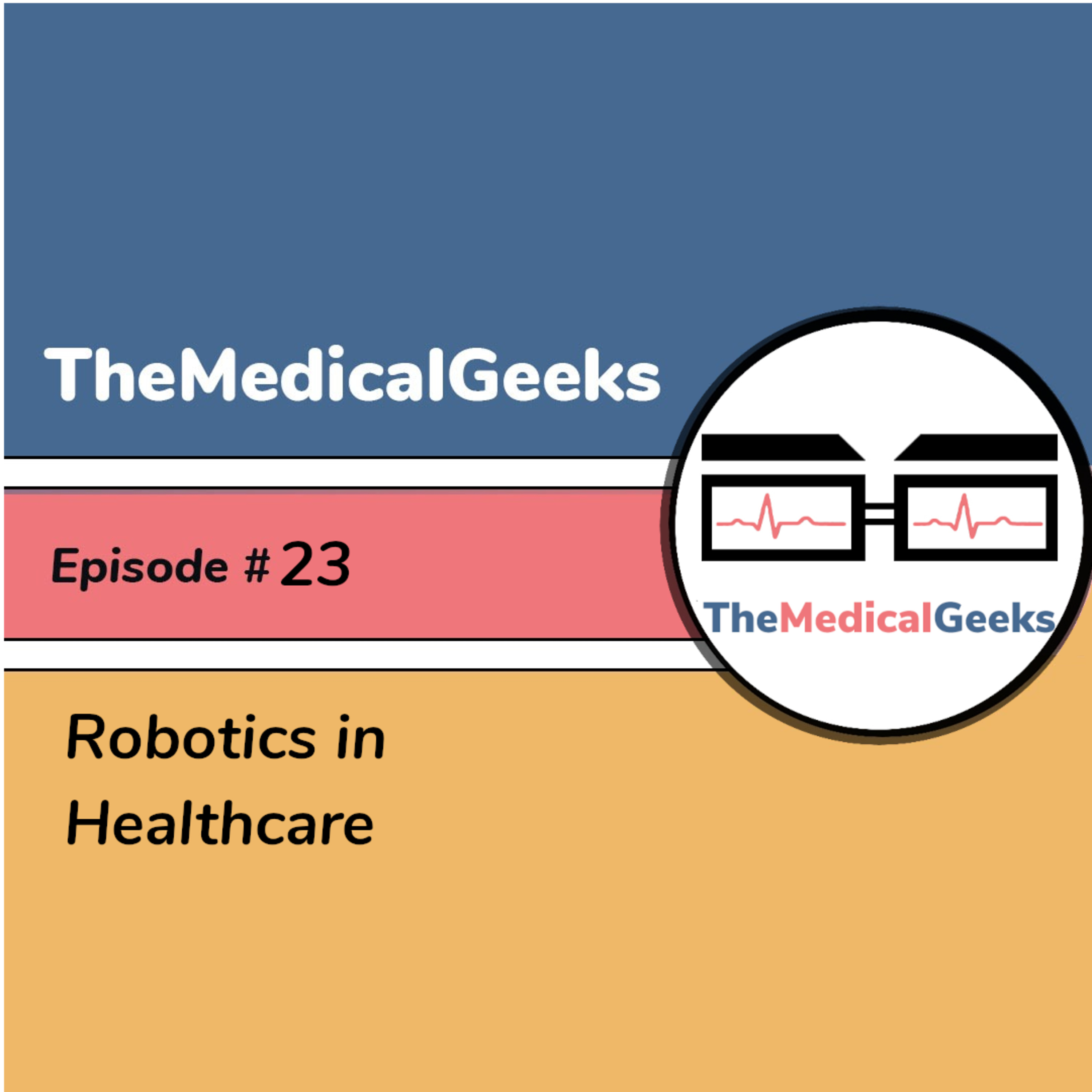 #23 Episode 23: Robotics in Healthcare