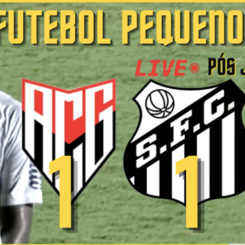 Atlético-GO 1 X 1 SANTOS | A ABSURDA ENTREVISTA PÓS JOGO DO CUCA