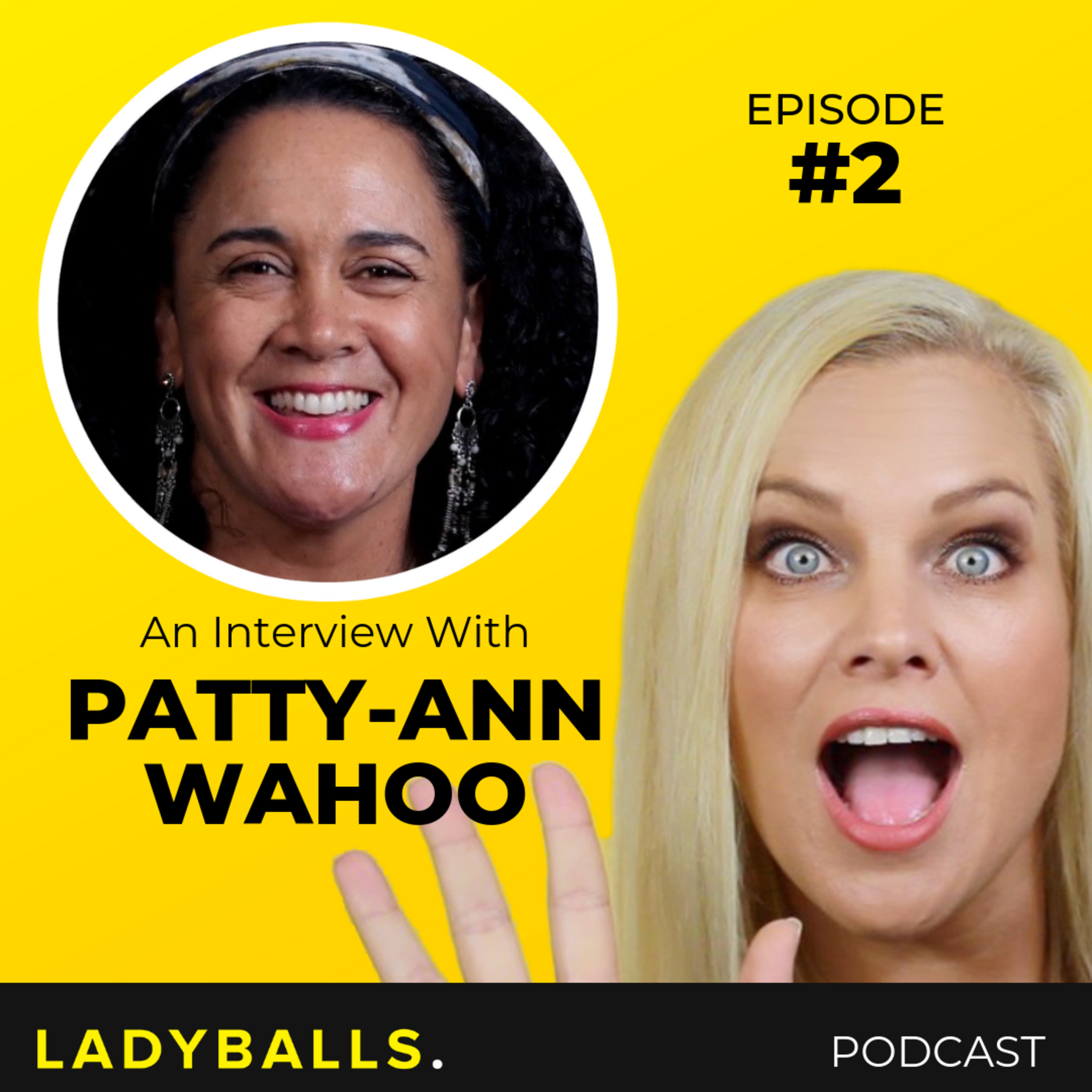 Patty-Ann Waho on parenting, abusive relationships and comedy