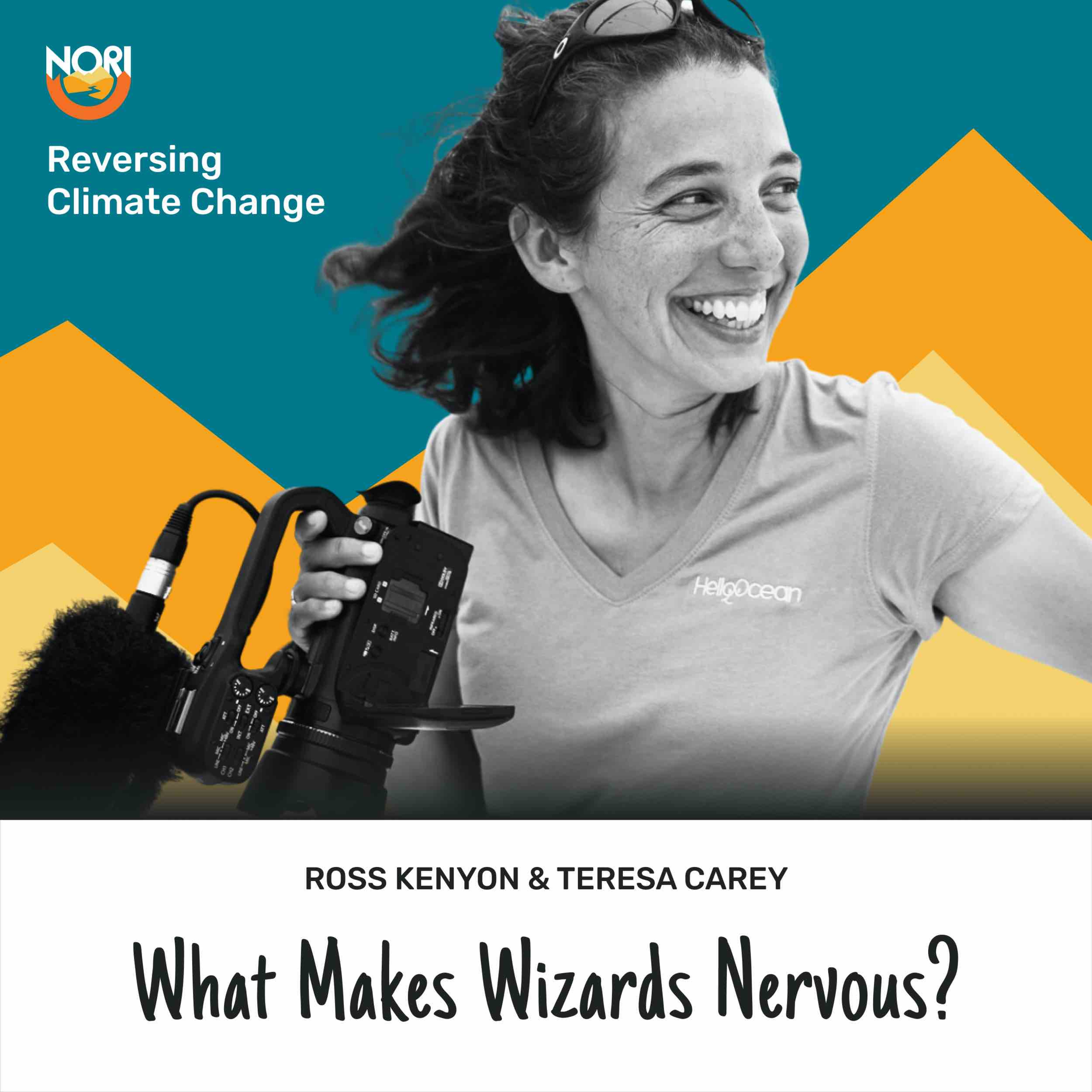 S2E70: What scares a wizard?—w/ Teresa Carey, journalist at Freethink