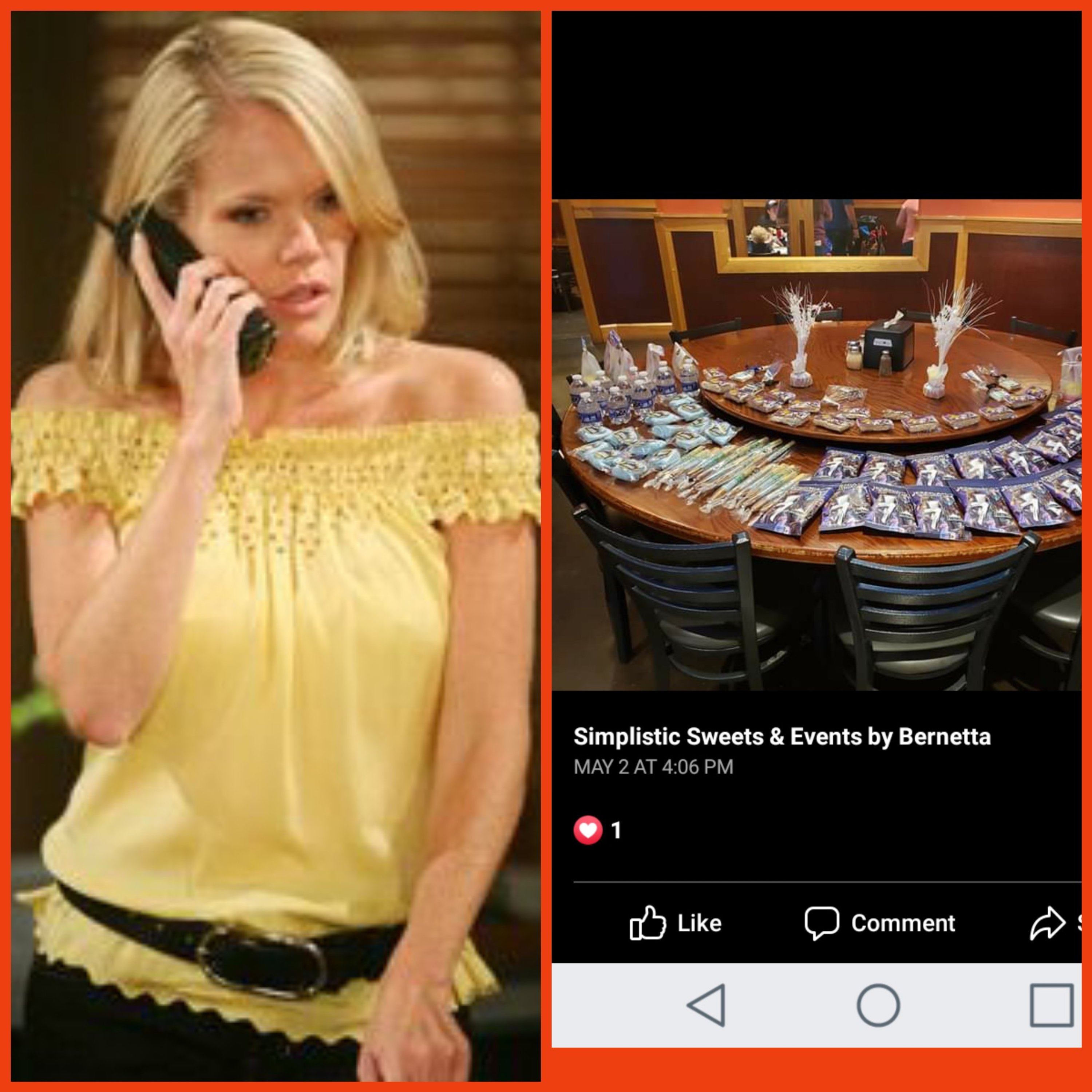 📱 S3Ep20 : #MauraWestNight Dedicated to Maura West   Simplistic Sweets & Events by Bernetta
