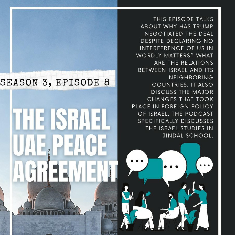 The Israel UAE peace agreement