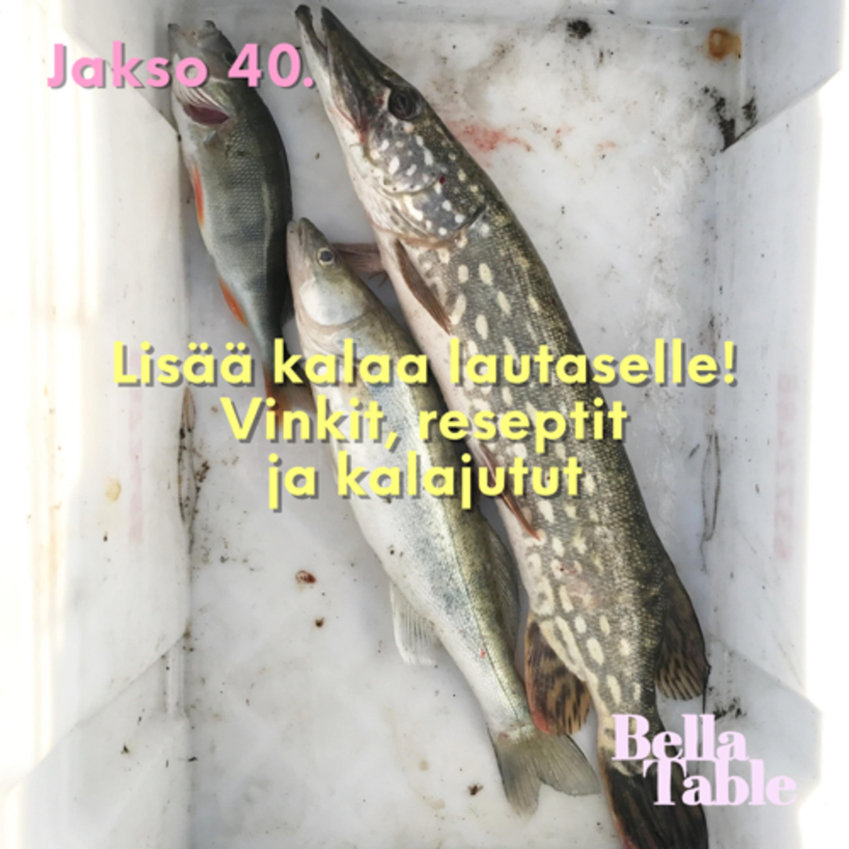 40. Lisää kalaa lautaselle! Vinkit, reseptit ja kalajutut.