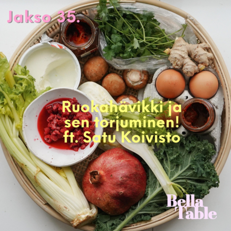 35. Ruokahävikki ja sen torjuminen ft. Satu Koivisto