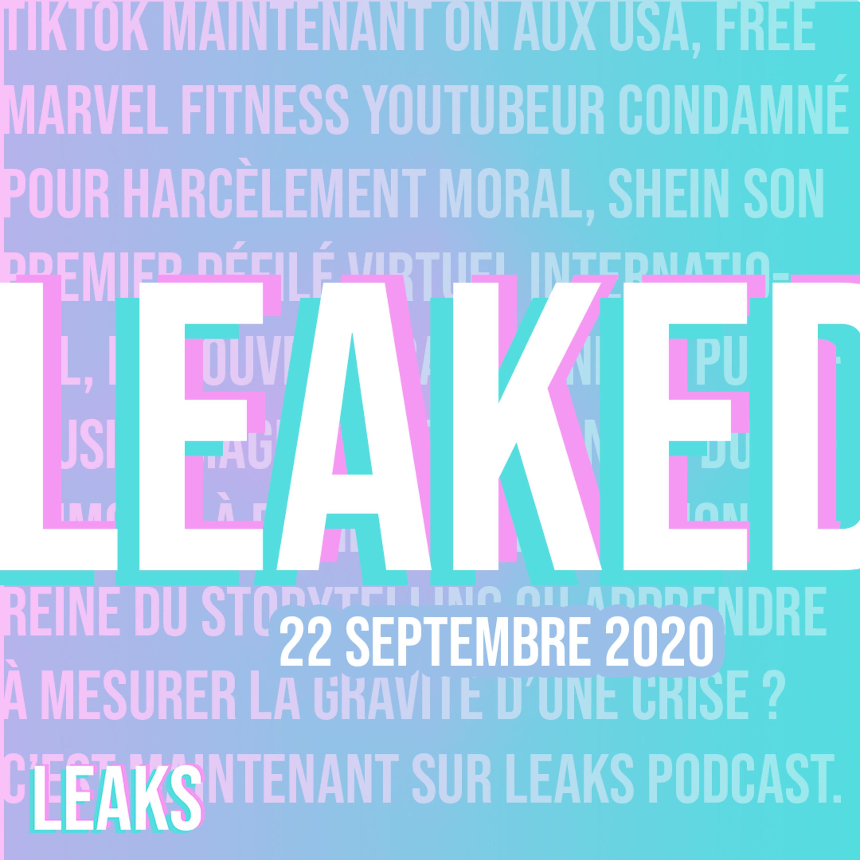 La veille stylée du 22/09/2020 – Leaked #9