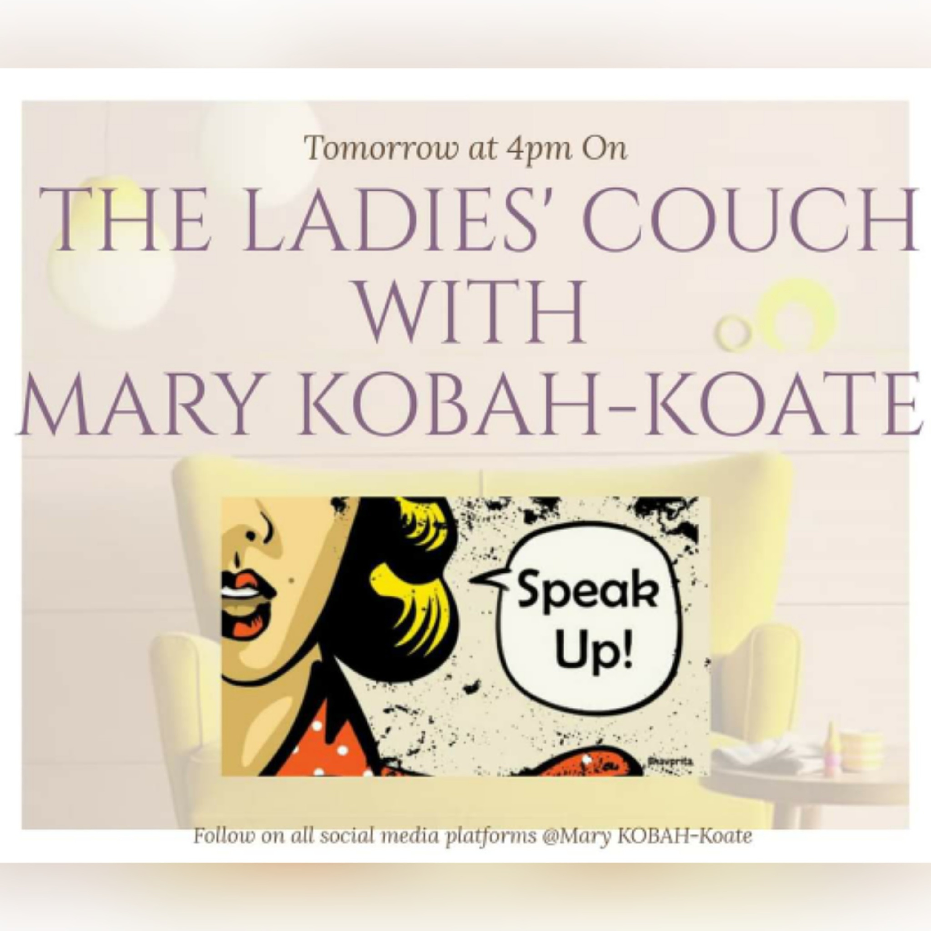 The Ladies' Couch with Mary KOBAH-Koate on Jamit