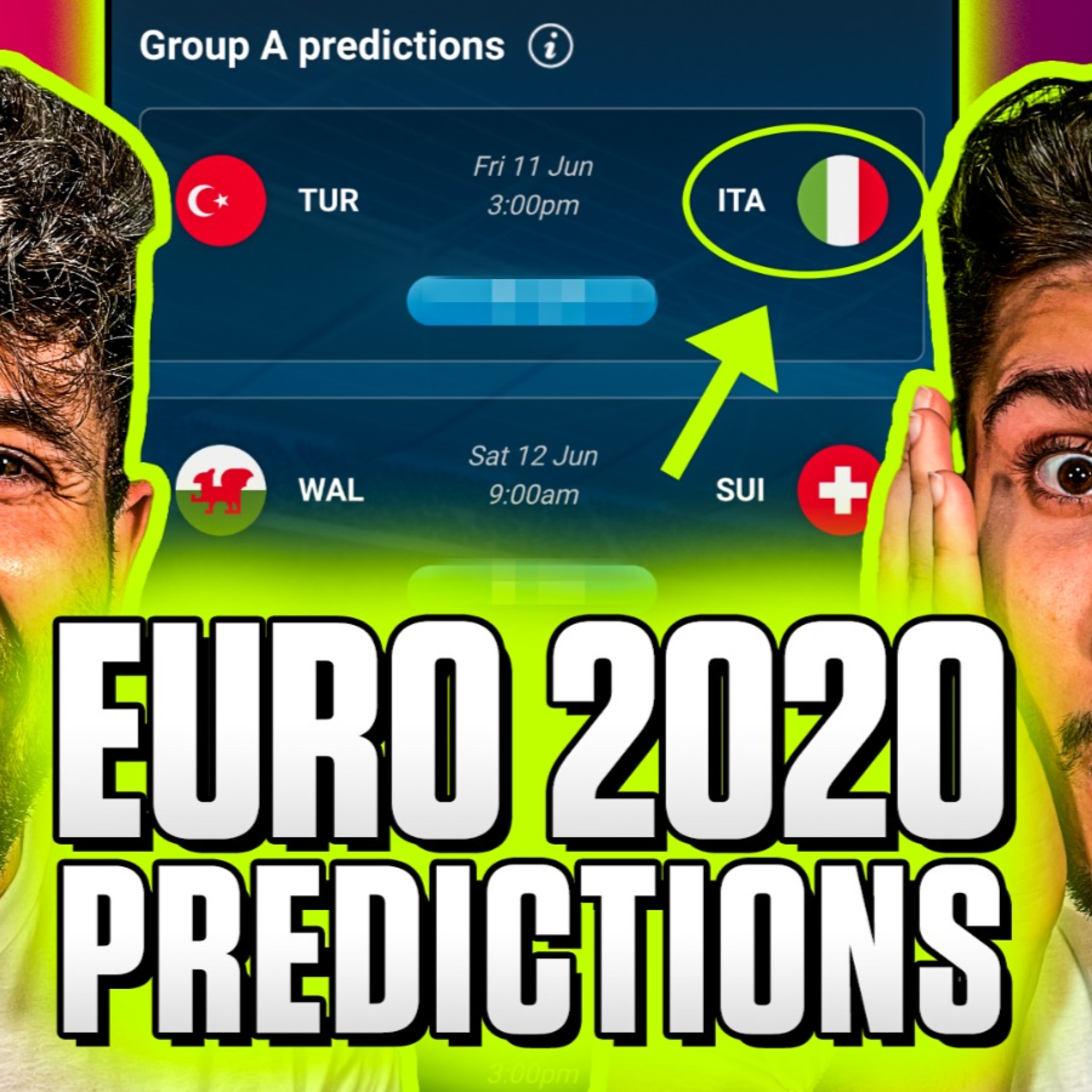 $3000 if you can beat my EURO 2020 prediction!   Football podcast #171