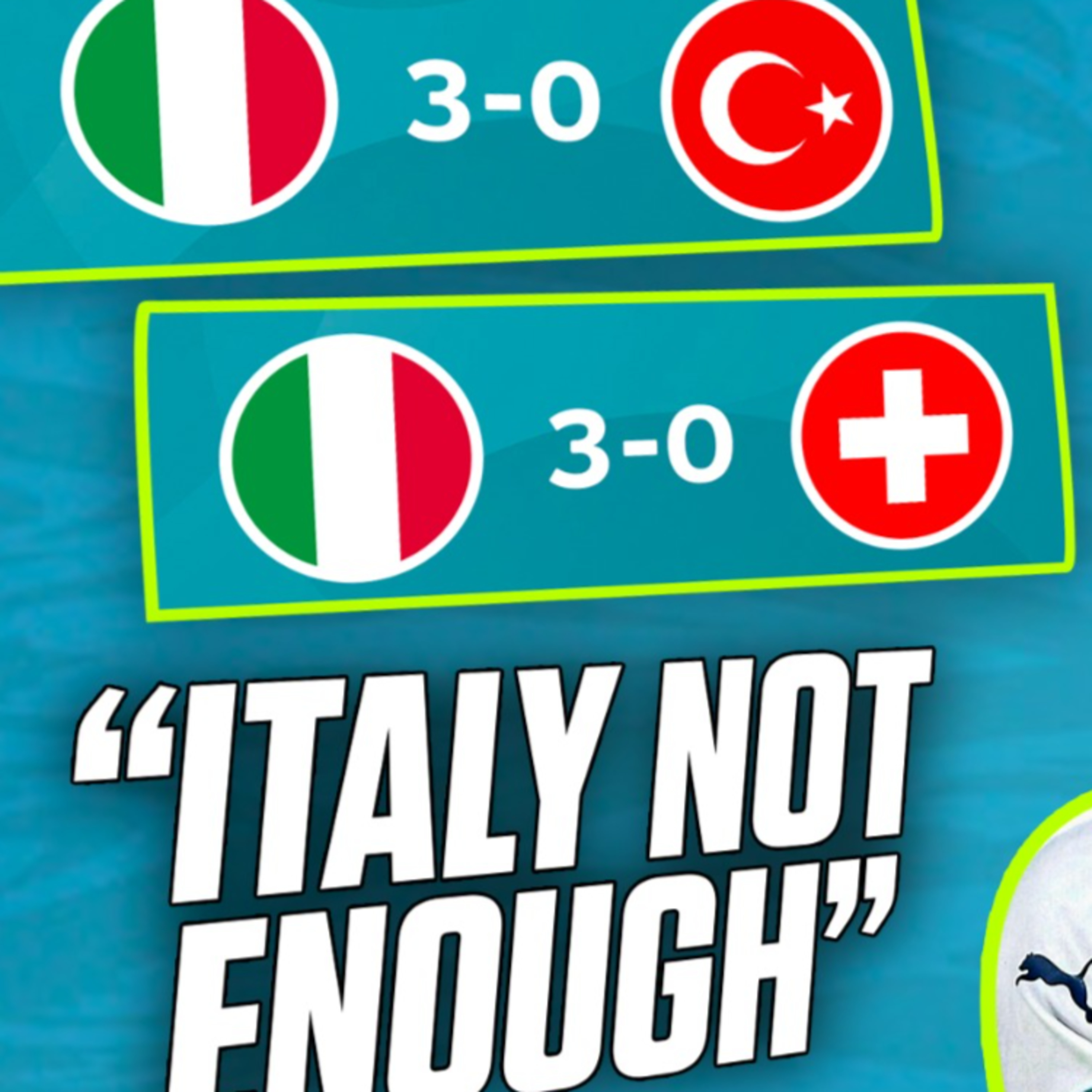 'Italy are not good enough'   IFTV Podcast #172