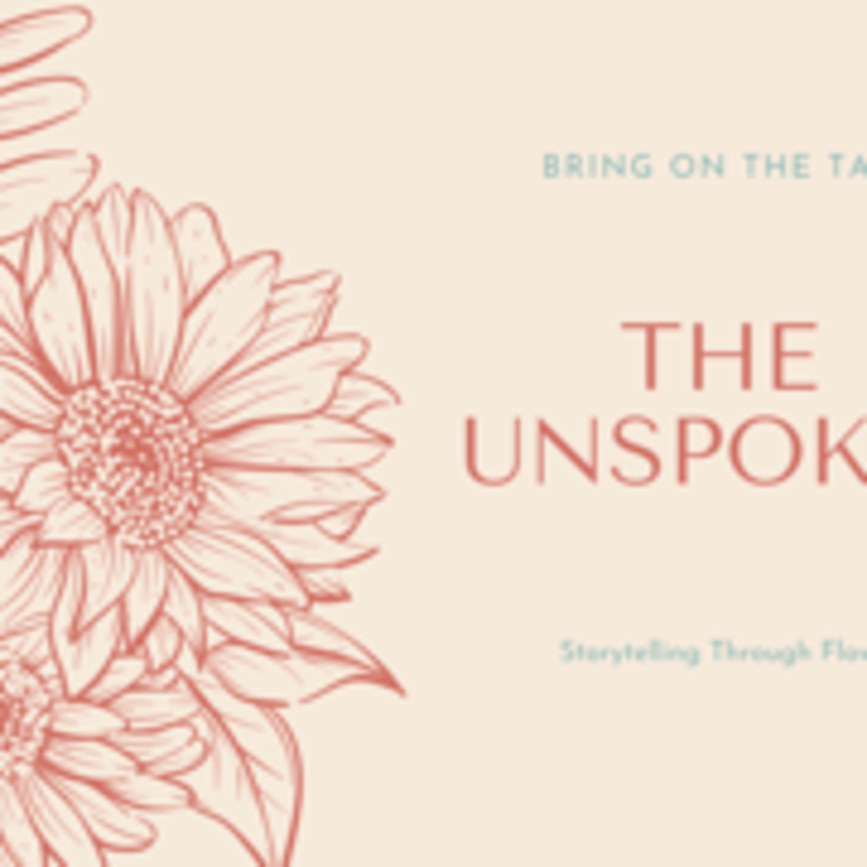 The unspoken series; money