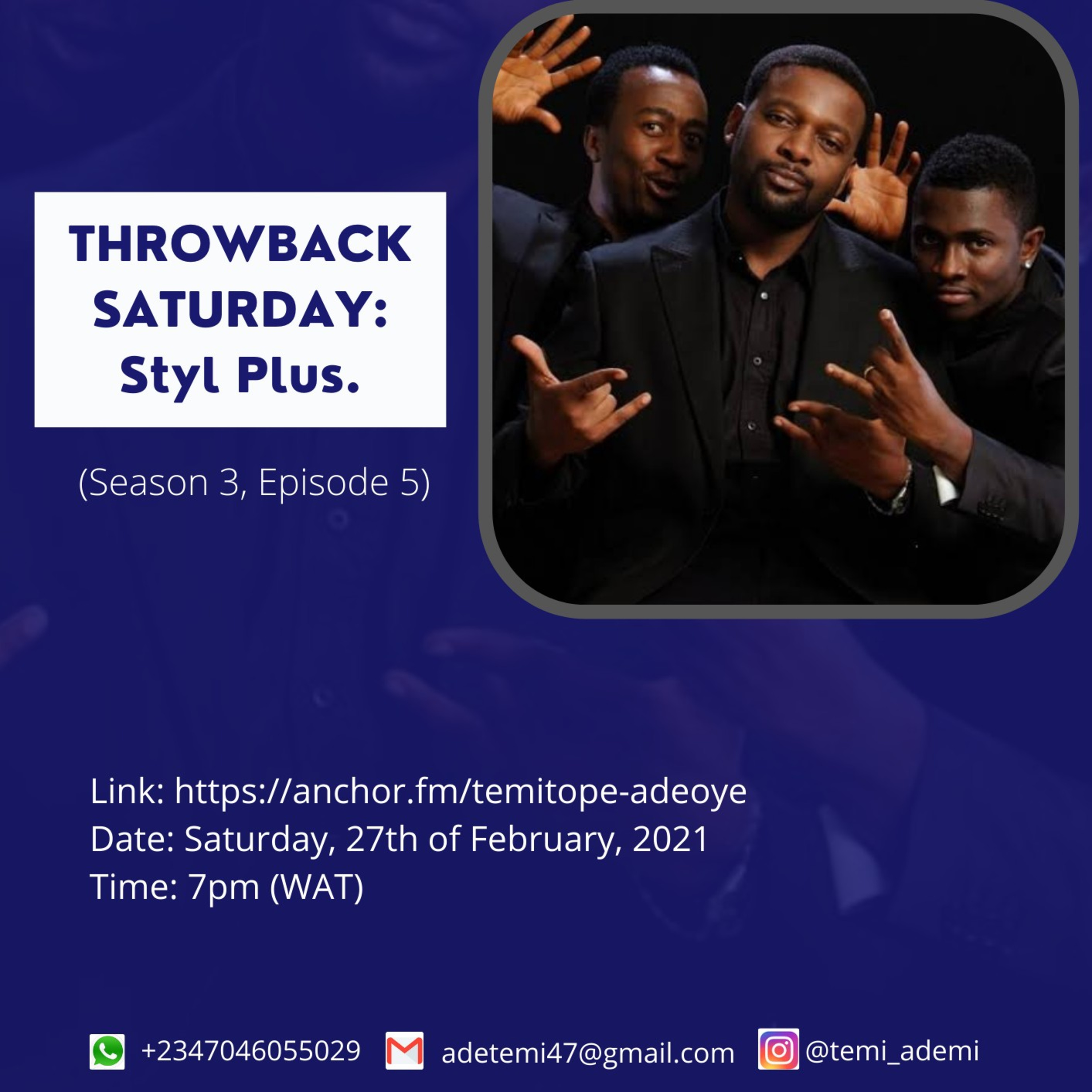 MUSIC THROWBACK: STYL PLUS