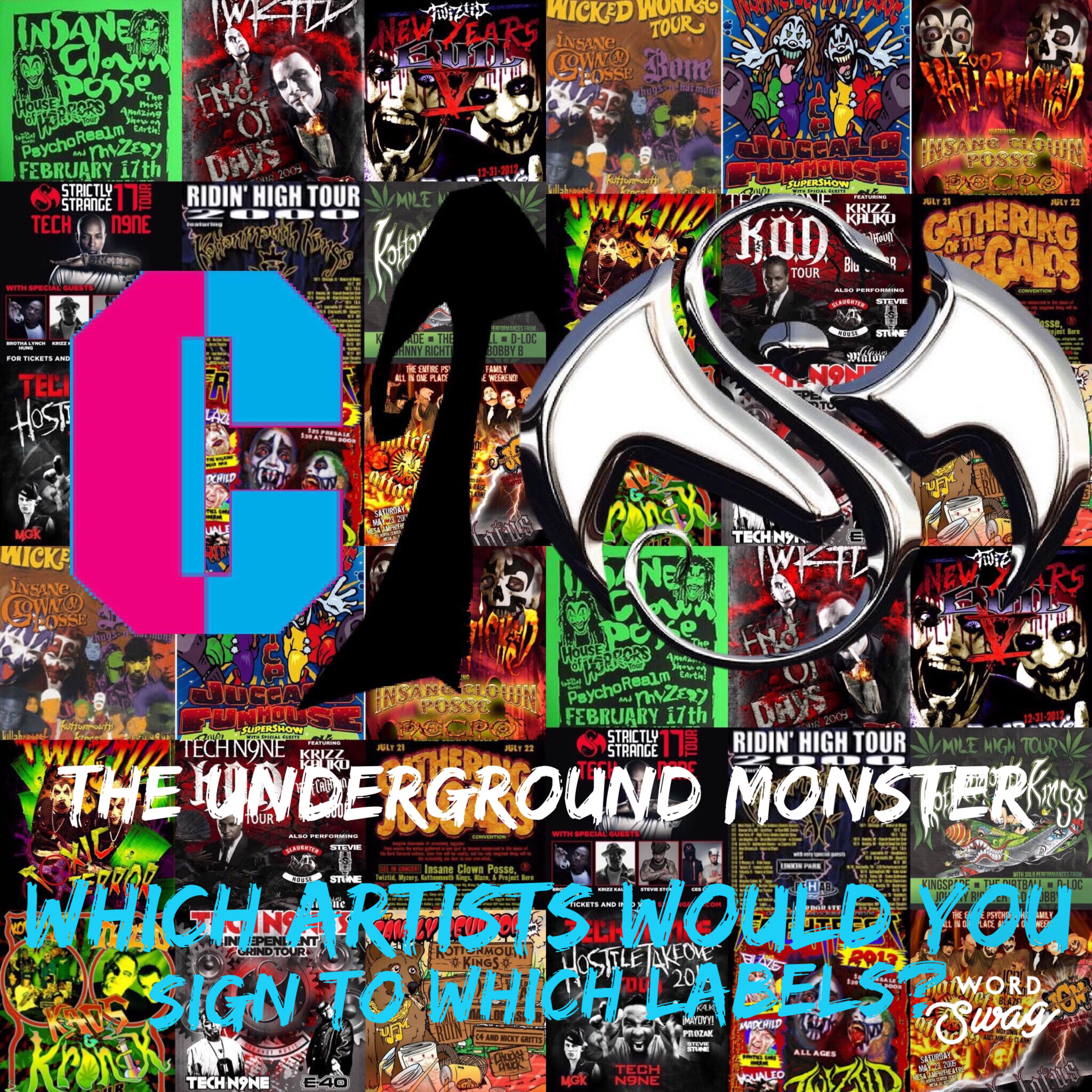 The Underground Monster Ep. 4: Which Artists Would You Sign To Which Labels?
