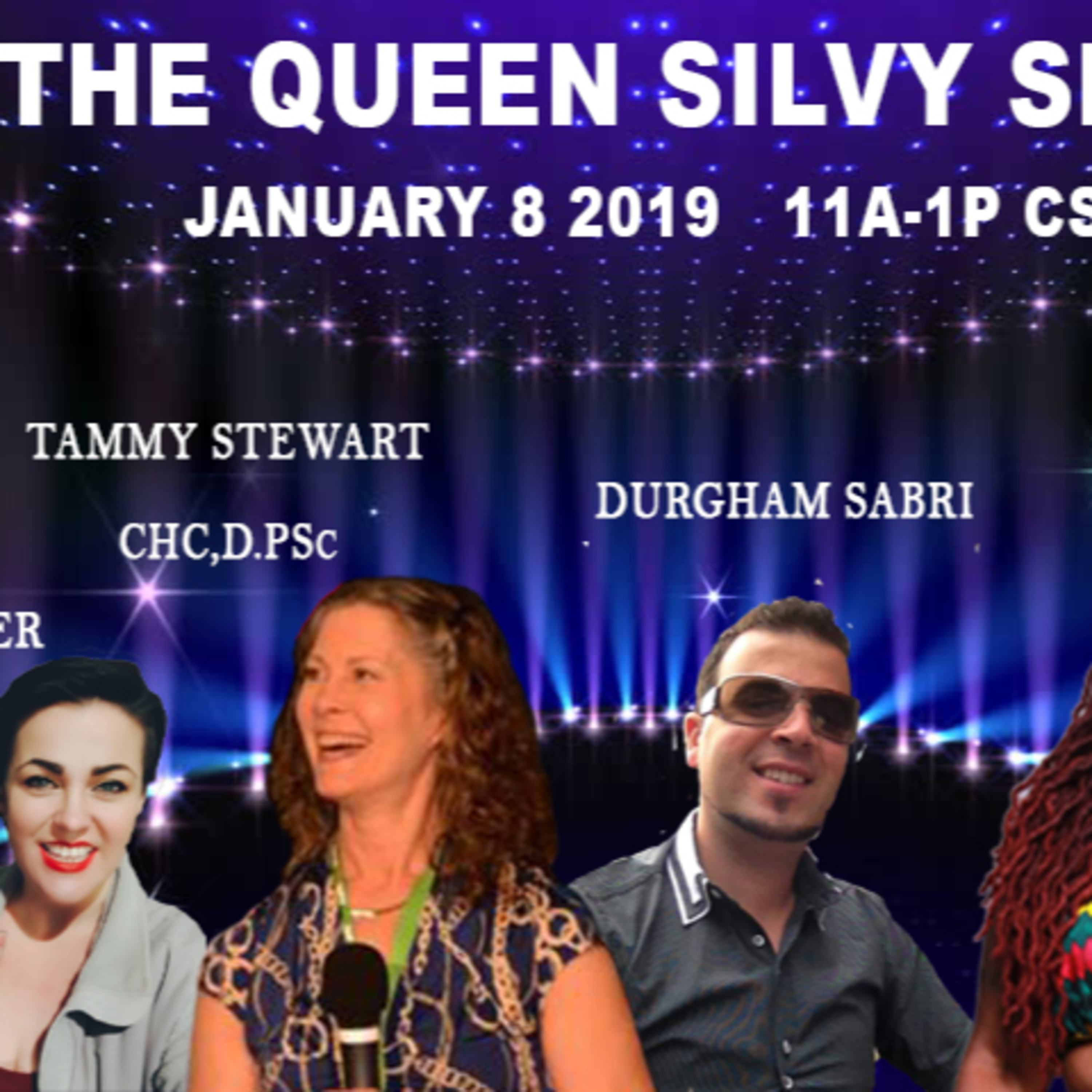 The Queen Silvy Show - January 8 2019
