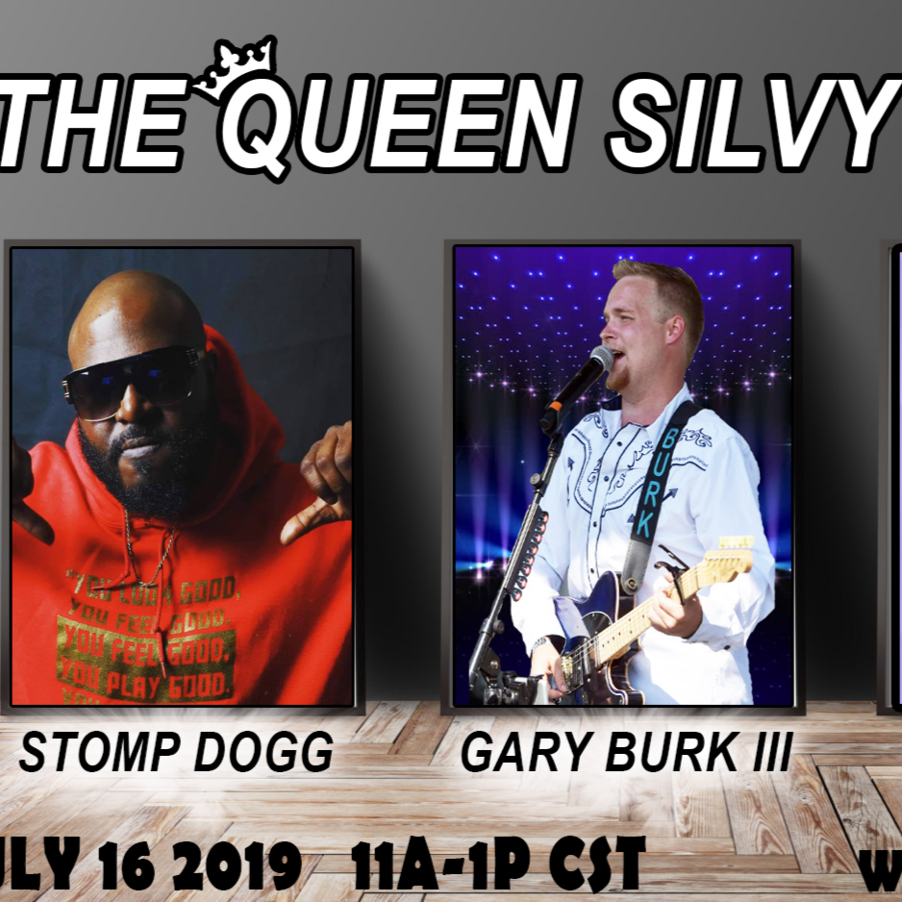 The Queen Silvy Show - July 16 2019