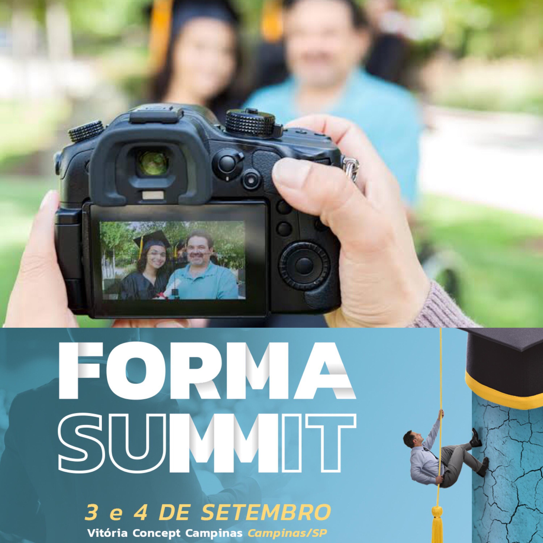 O primeiro Forma Summit acontece em setembro 📷 🎓