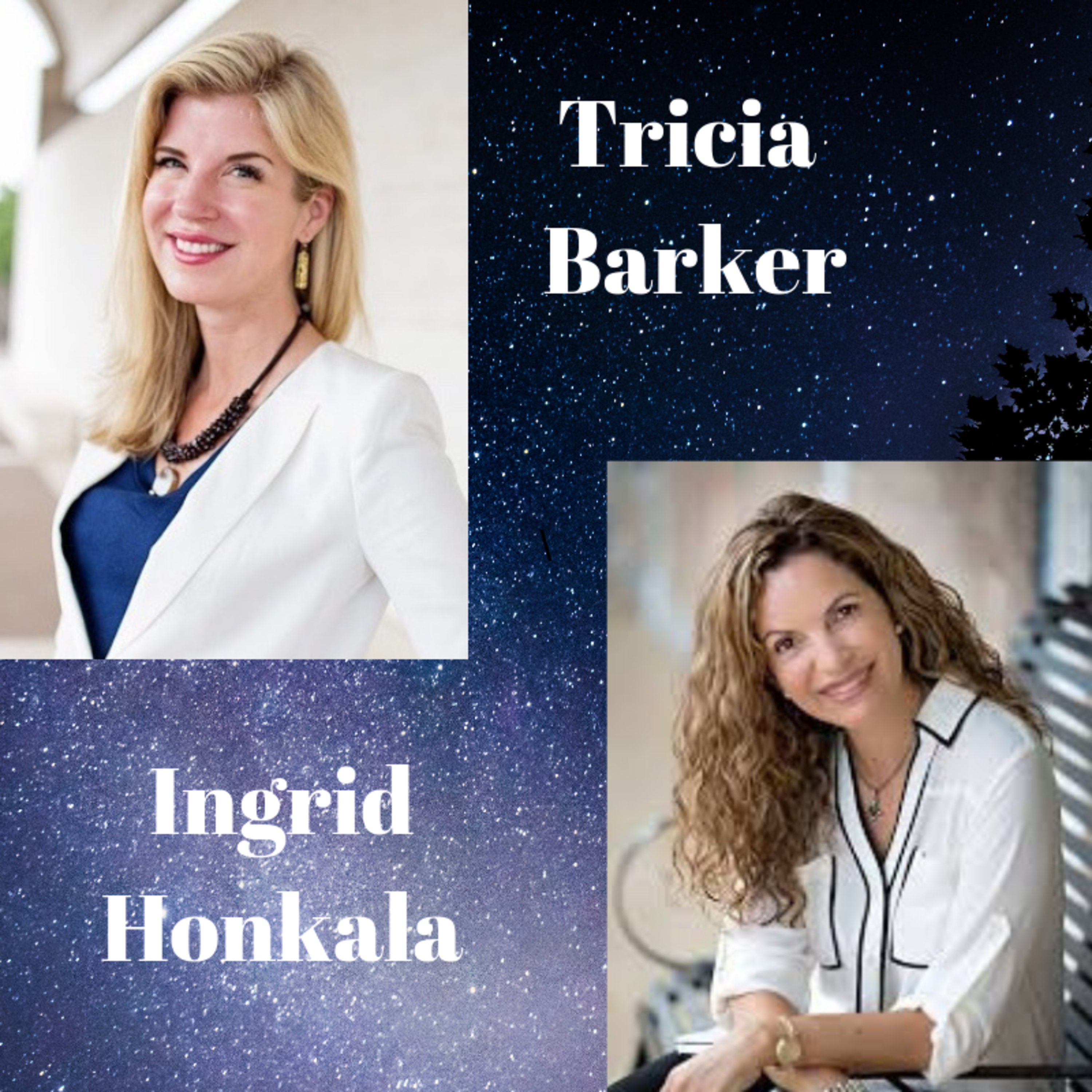 S2 Ep. 13 Ingrid Honkala --Tricia Barker's Conversations With Near-Death Experiencers (Live at the IANDS Conference 2018)