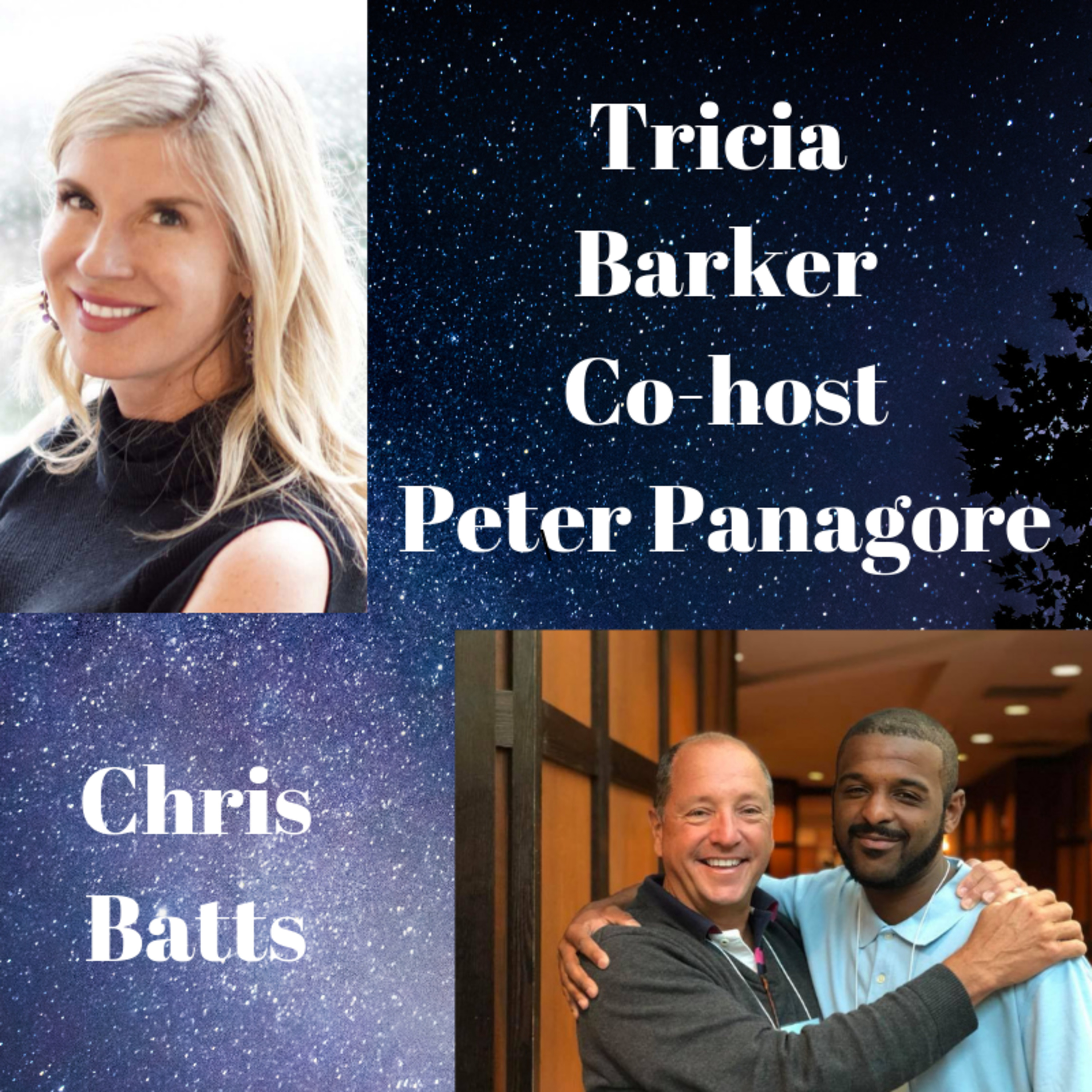 S2 Ep. 15 Chris Batts ---Tricia Barker (co-host Peter Panagore) Conversations with Near-Death Experiencers Live at IANDS 2018