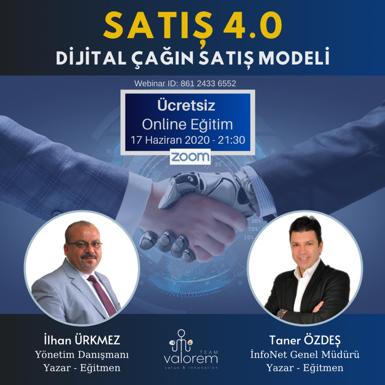 Satış 4.0 - Dijital Çağın Satış Modeli - İlhan Ürkmez , Taner Özdeş