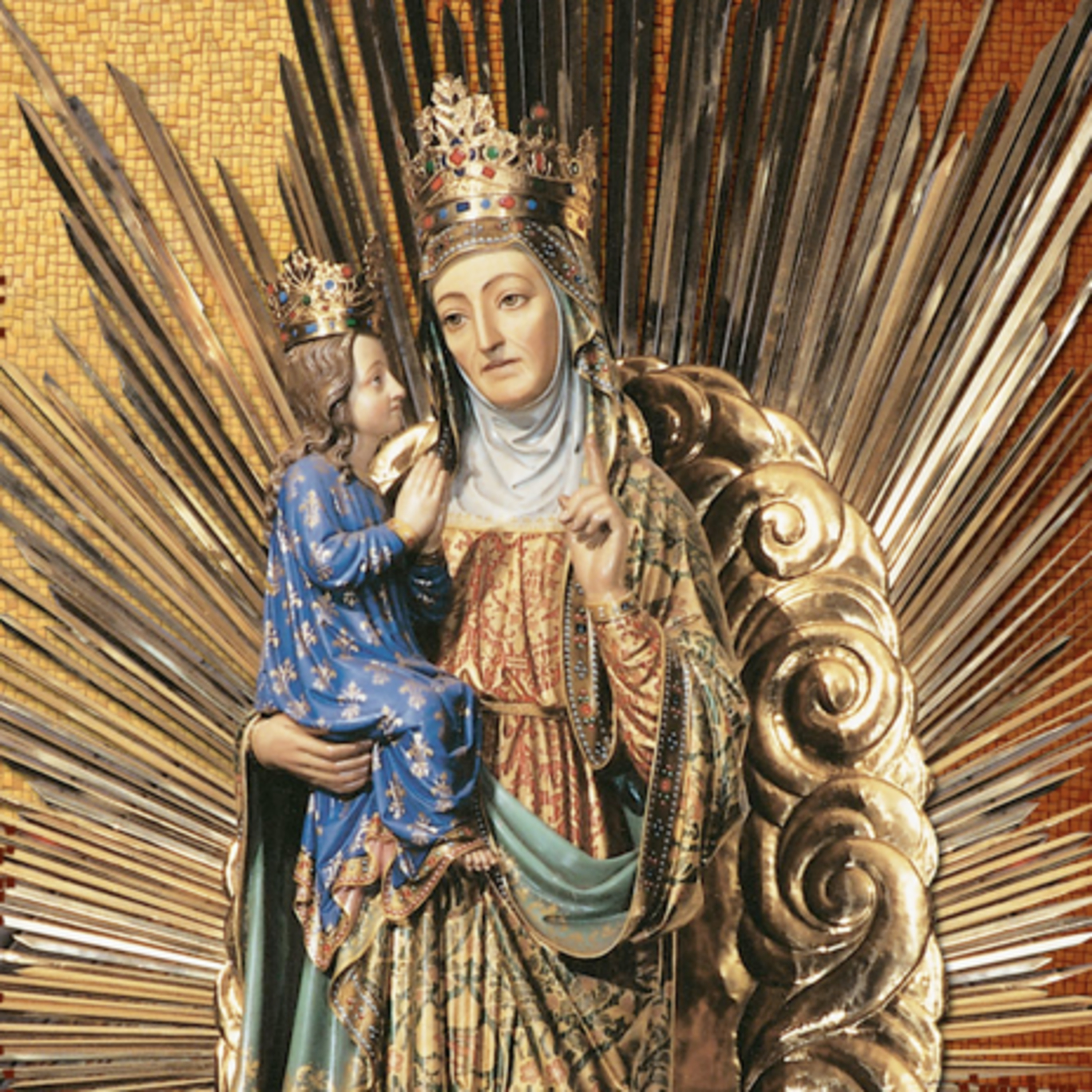 Feast of St. Anne, being sons and daughters in the Son