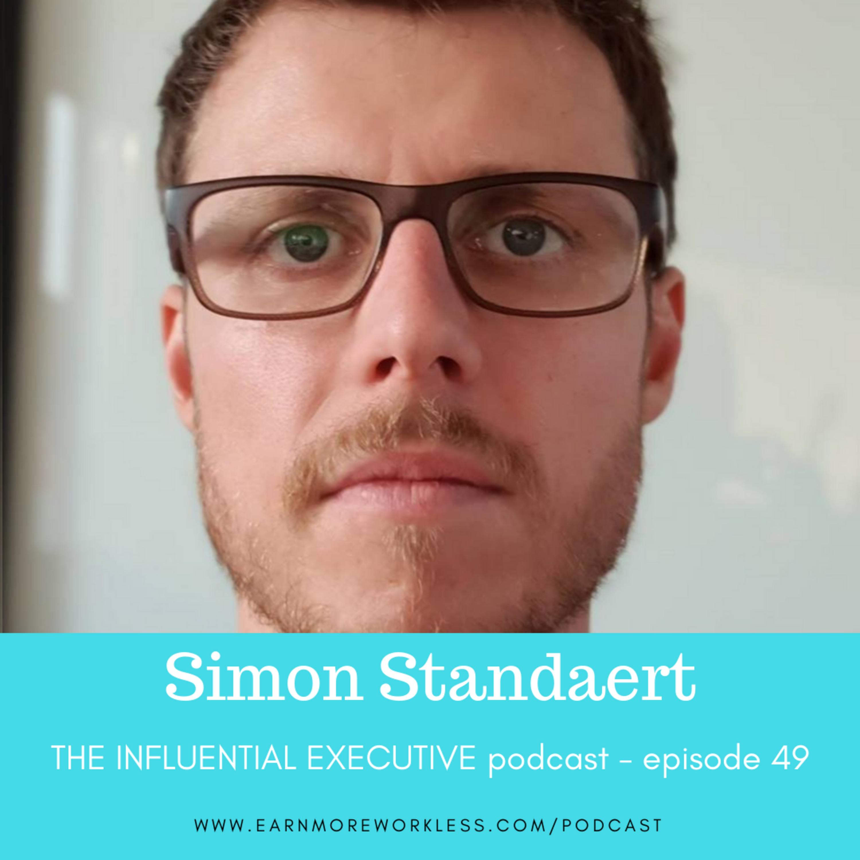 E49: Entrepreneurship Lessons from a Purpose-Driven Startup  (Simon Standaert)