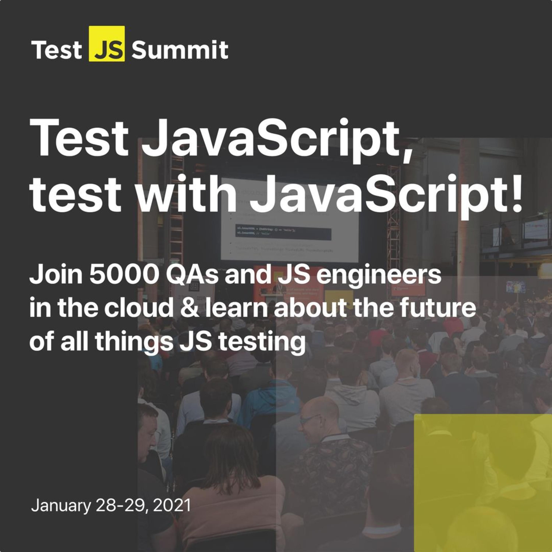TestJS Summit: Descuento + Sorpresa. ¡Y Twitch! - 03x02