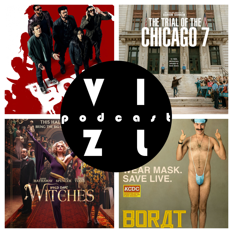 Подкаст №21: Борат 2, Суд над чикагской семеркой, Ведьмы, Пацаны – 2 сезон